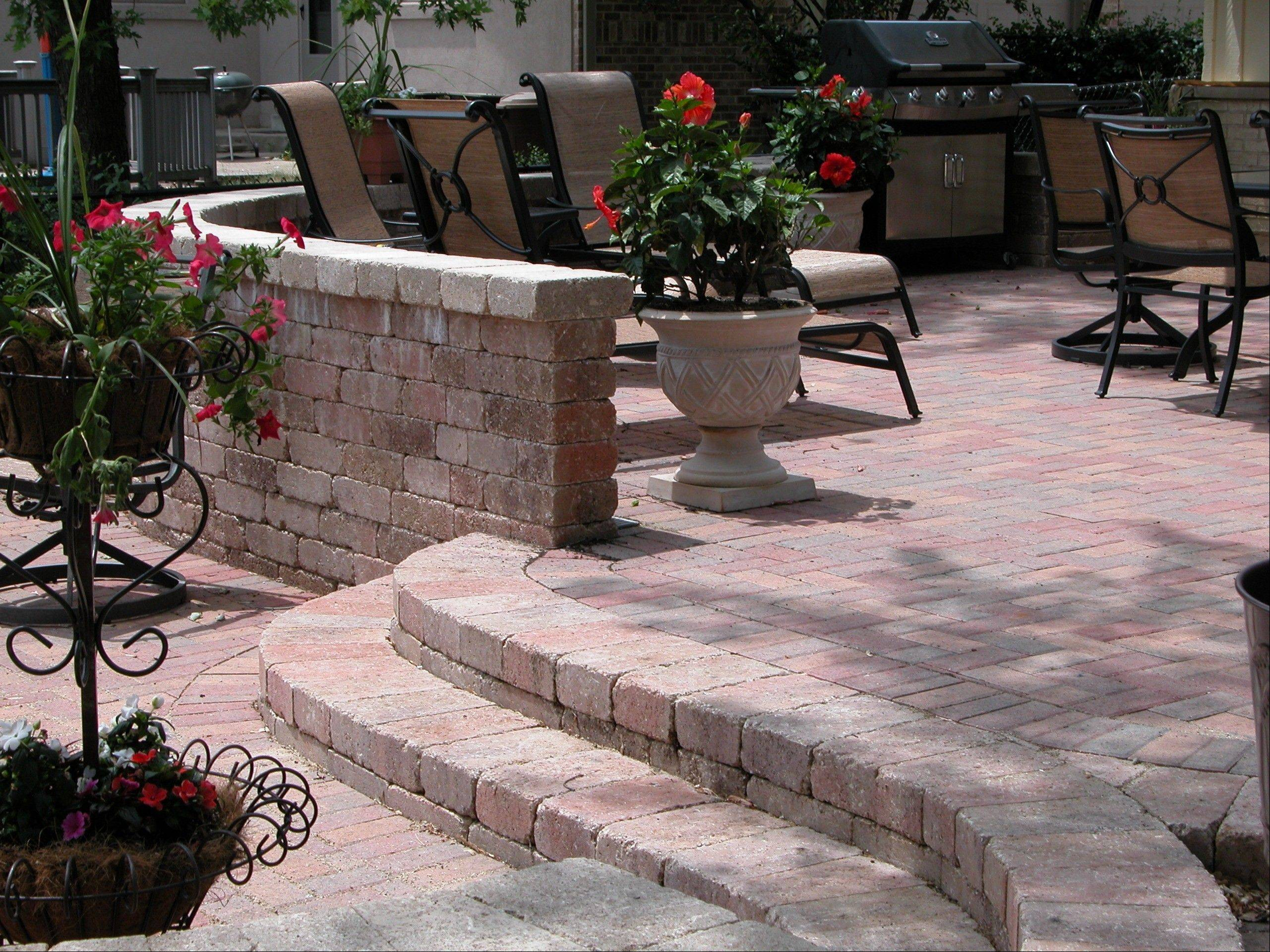 Homeowners have begun to invest in outdoor improvements once again, said Colin Taheny of RYCO Landscaping.