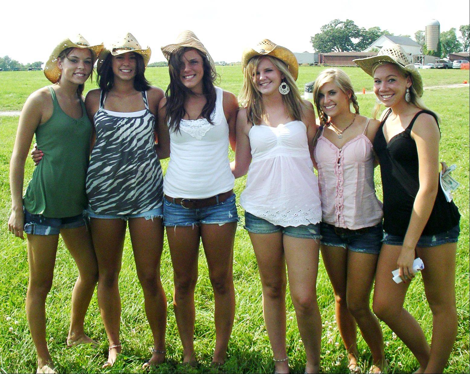 In this group photo, Emma Mebane of Geneva is third from the right, and the picture was taken before the group went to a Country Thunder concert in 2009. Emma died in her sleep July 8, 2011, at age 19. Her family is hosting a mini-golf event next week in her memory.