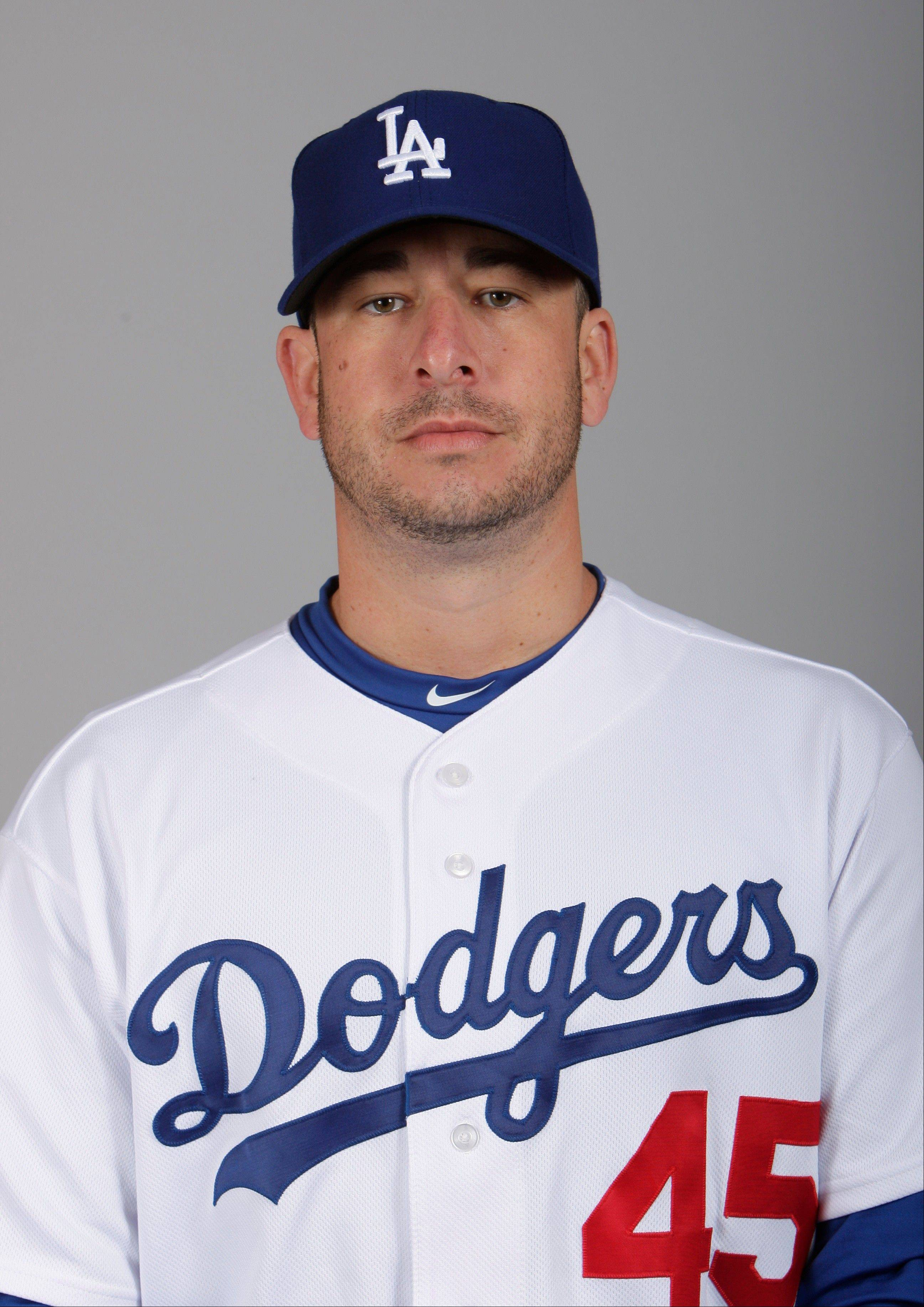 Los Angeles Dodgers' Justin Miller