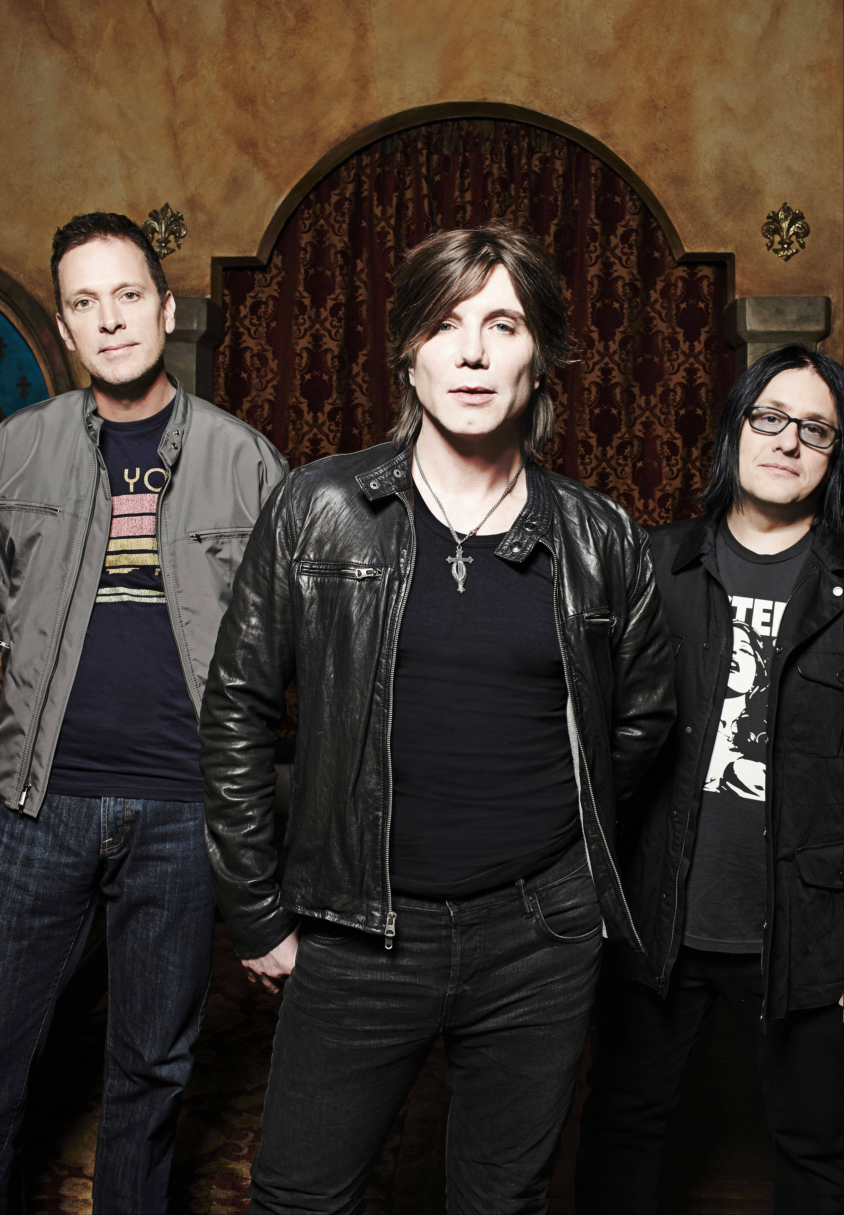 The Goo Goo Dolls — Mike Malinin, left, John Rzeznik and Robby Takac — play three shows this week with Matchbox Twenty at Ravinia.