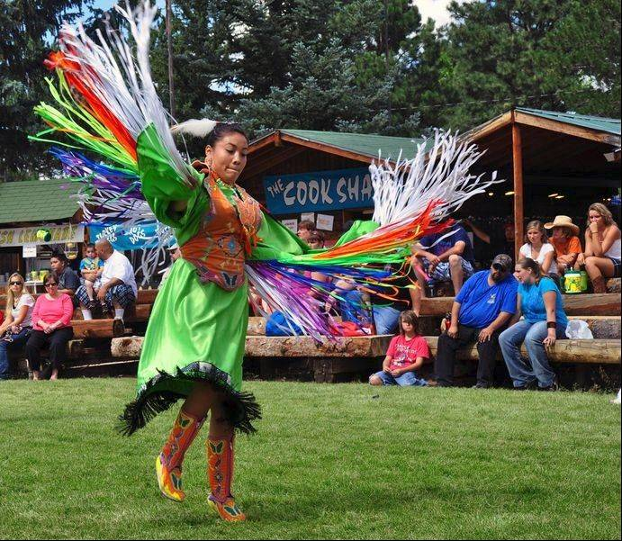 American Indians have been part of Frontier Days since its second year. Several tribes attend to pass on their heritage through song and dance.