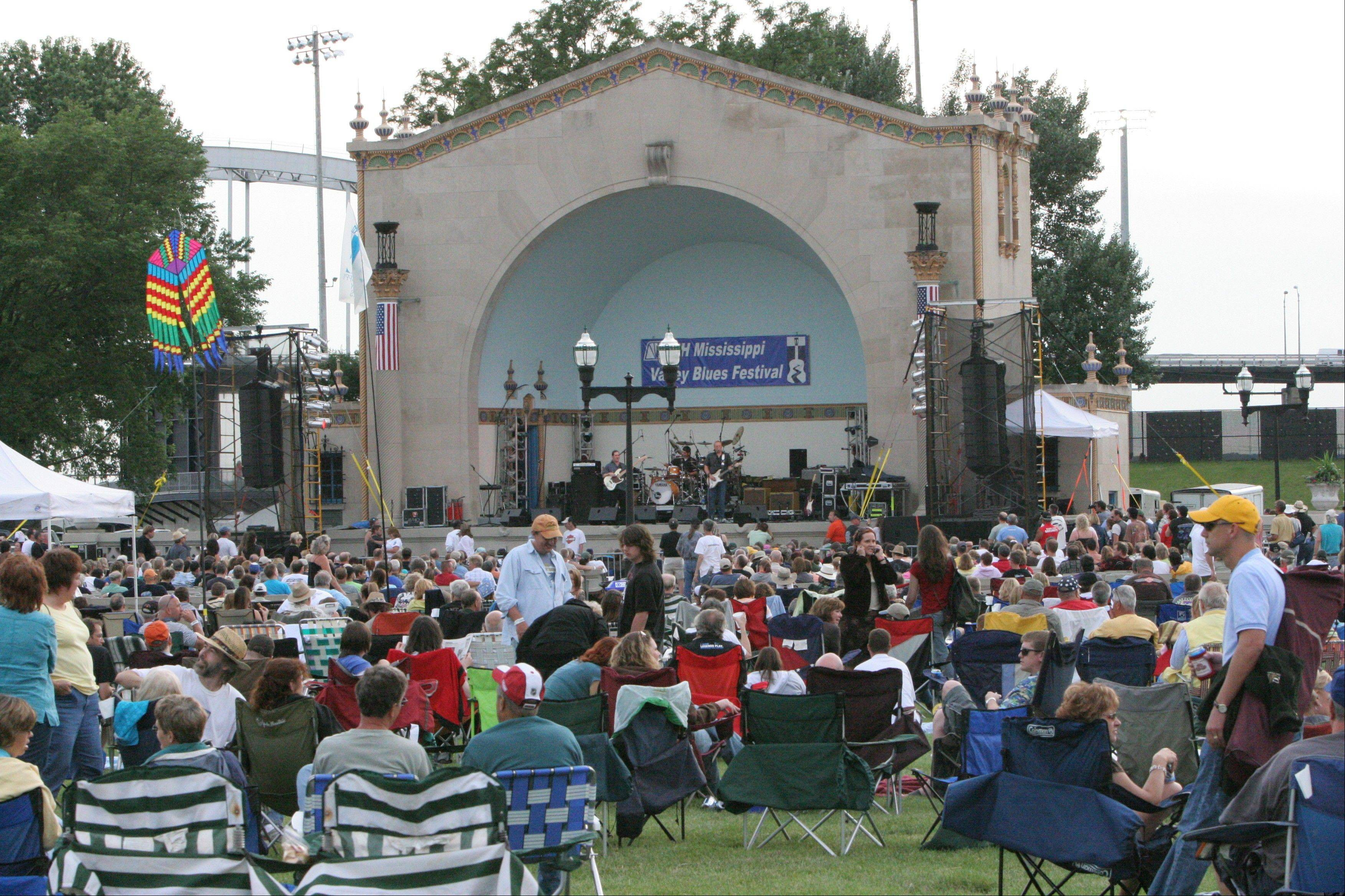 The Mississippi Valley Blues Festival celebrates its 29th year on Fourth of July weekend with an all-star lineup.