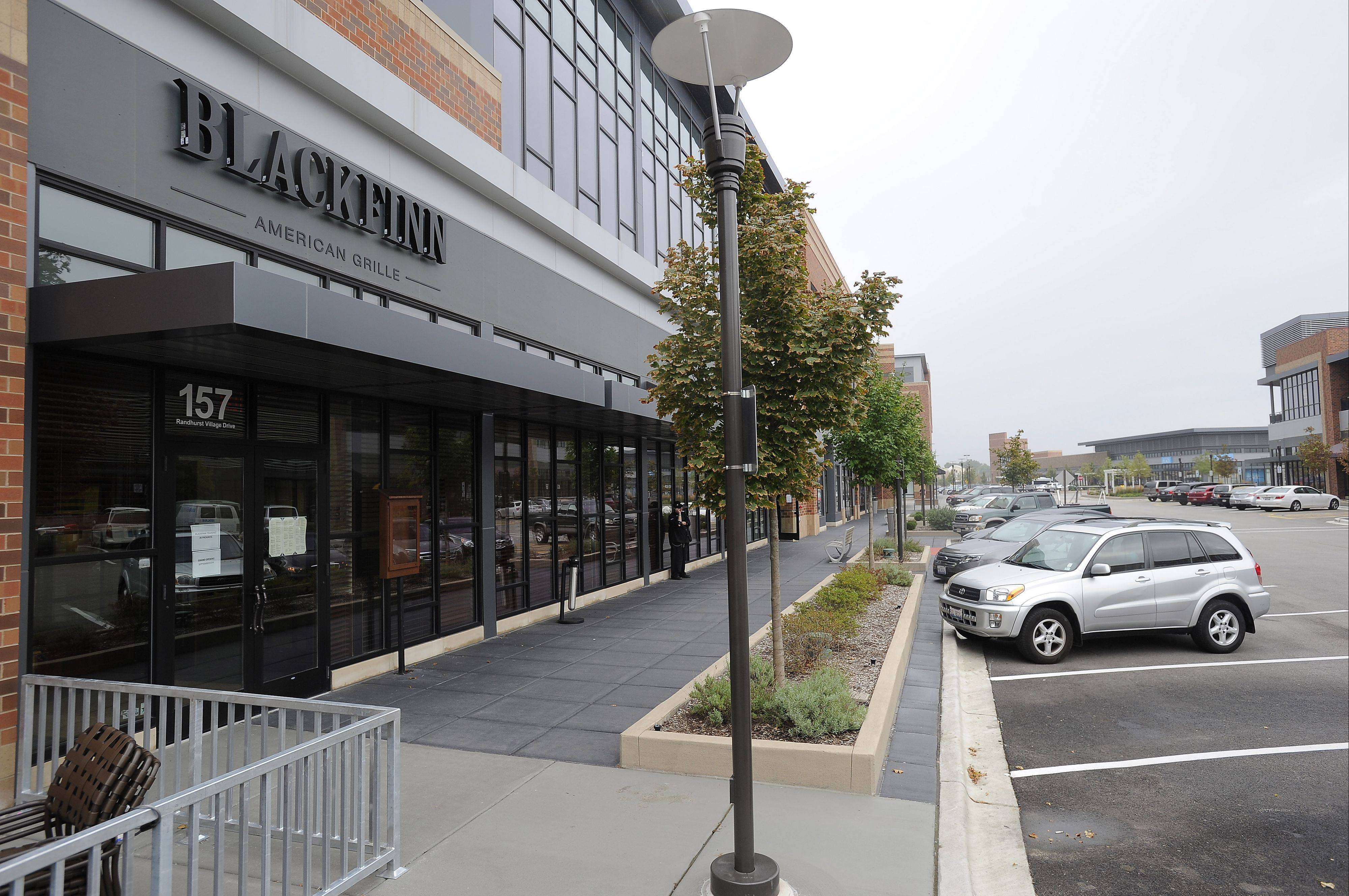 BlackFinn American Grille is one of the restaurants that has opened at Randhurst Village in Mount Prospect.