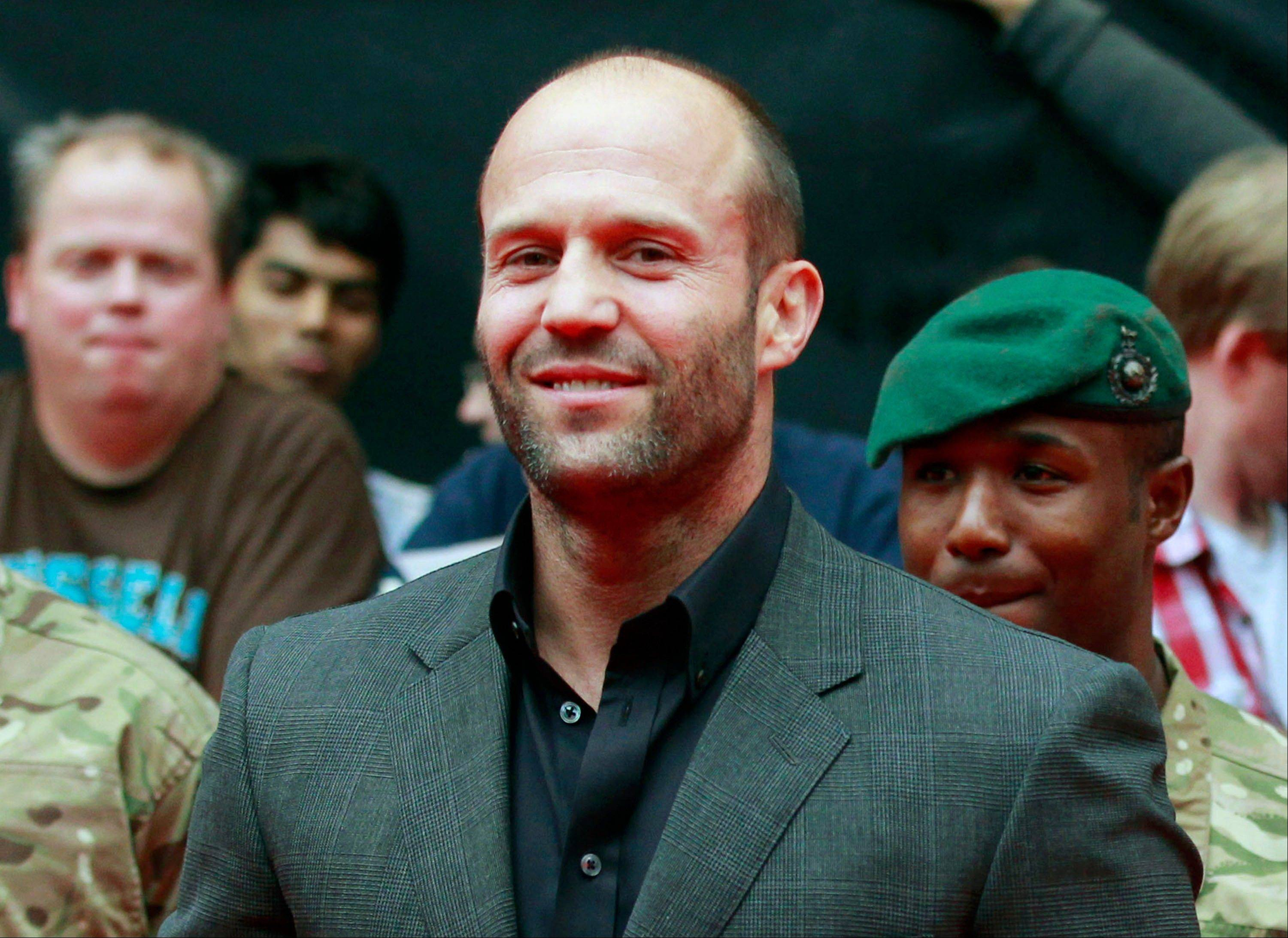 In Jason Statham�s latest film, �Redemption,� the actor turns it up a notch, playing a homeless soldier on the streets of London.