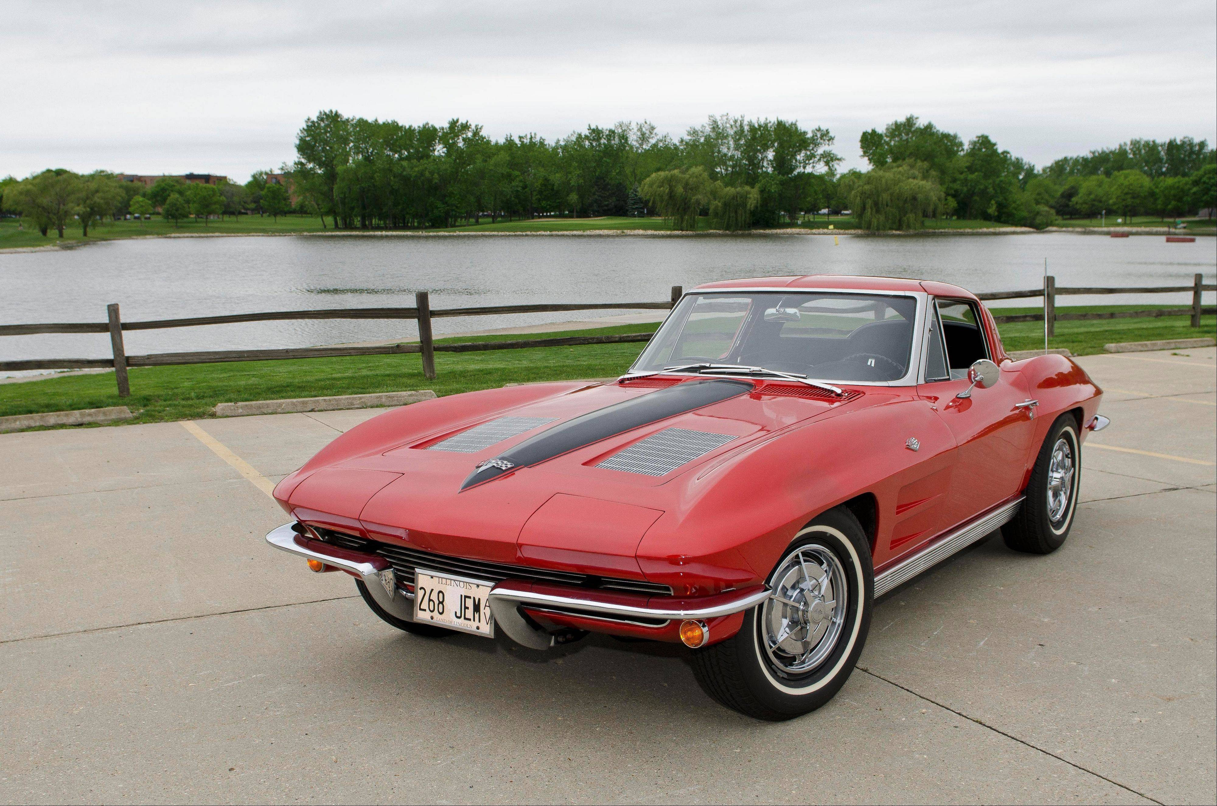 1963 Chevrolet Corvette, John Mrock, Arlington Heights