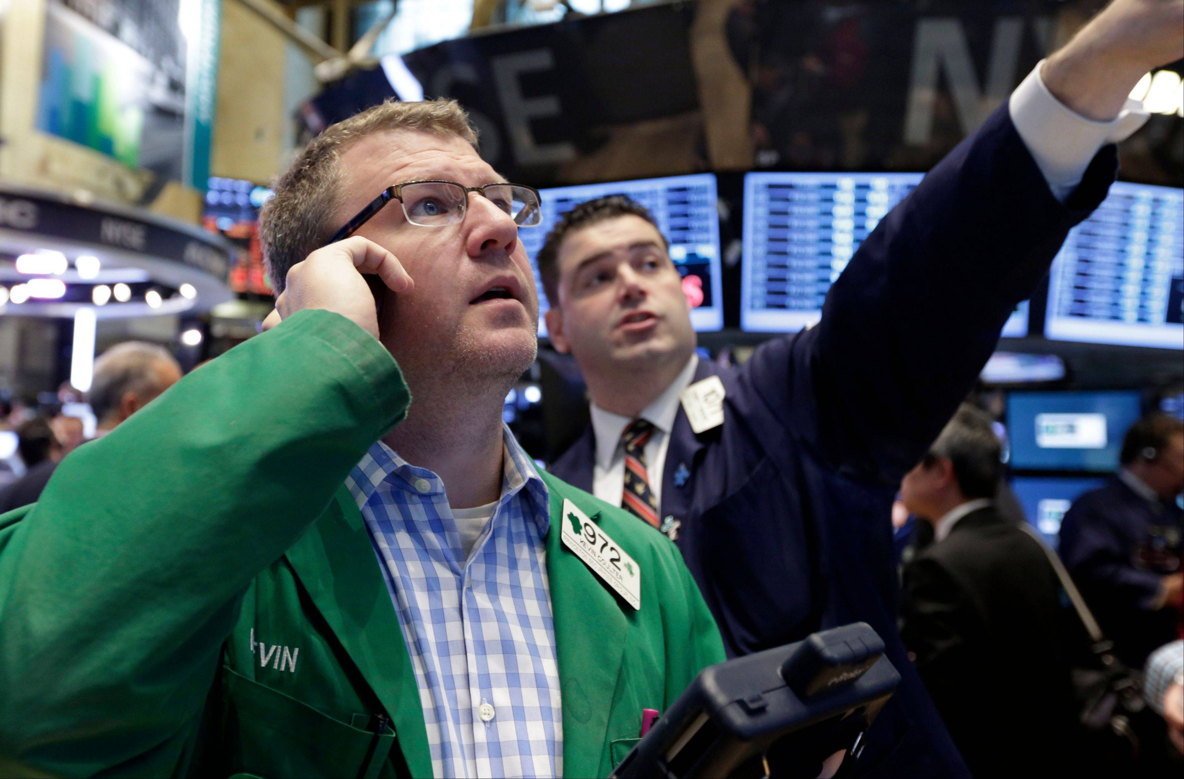 U.S. stocks rose, with the Standard & Poor�s 500 Index rebounding from its first monthly loss since October, as reports showing improved manufacturing from Japan to the U.S. bolstered confidence in the global economy.