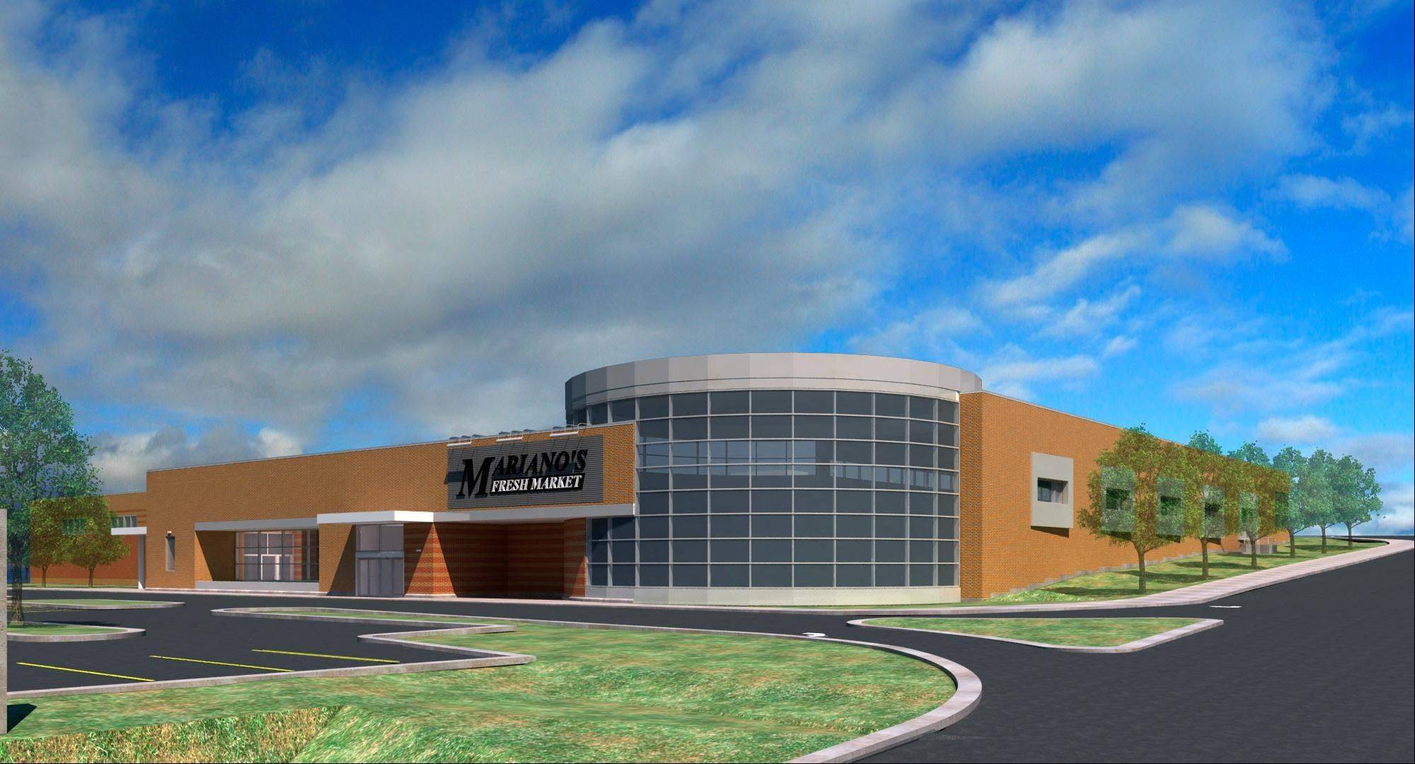 A Mariano's Fresh Market grocery store is scheduled to open by Oct. 15 at Naperville and Roosevelt roads in Wheaton.