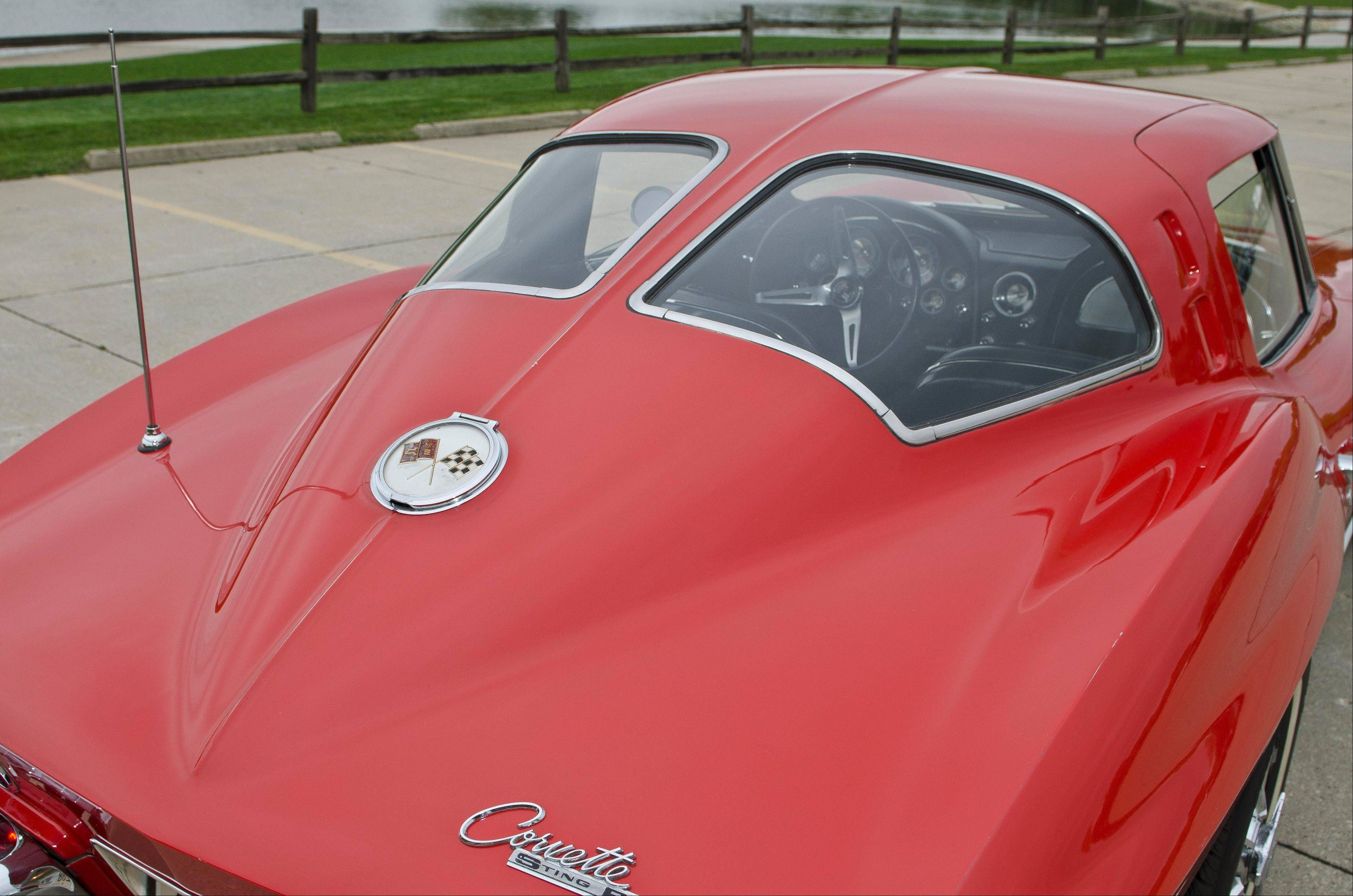 One of the things that make the 1963 Corvette so coveted is the split-window design of the rear windshield.