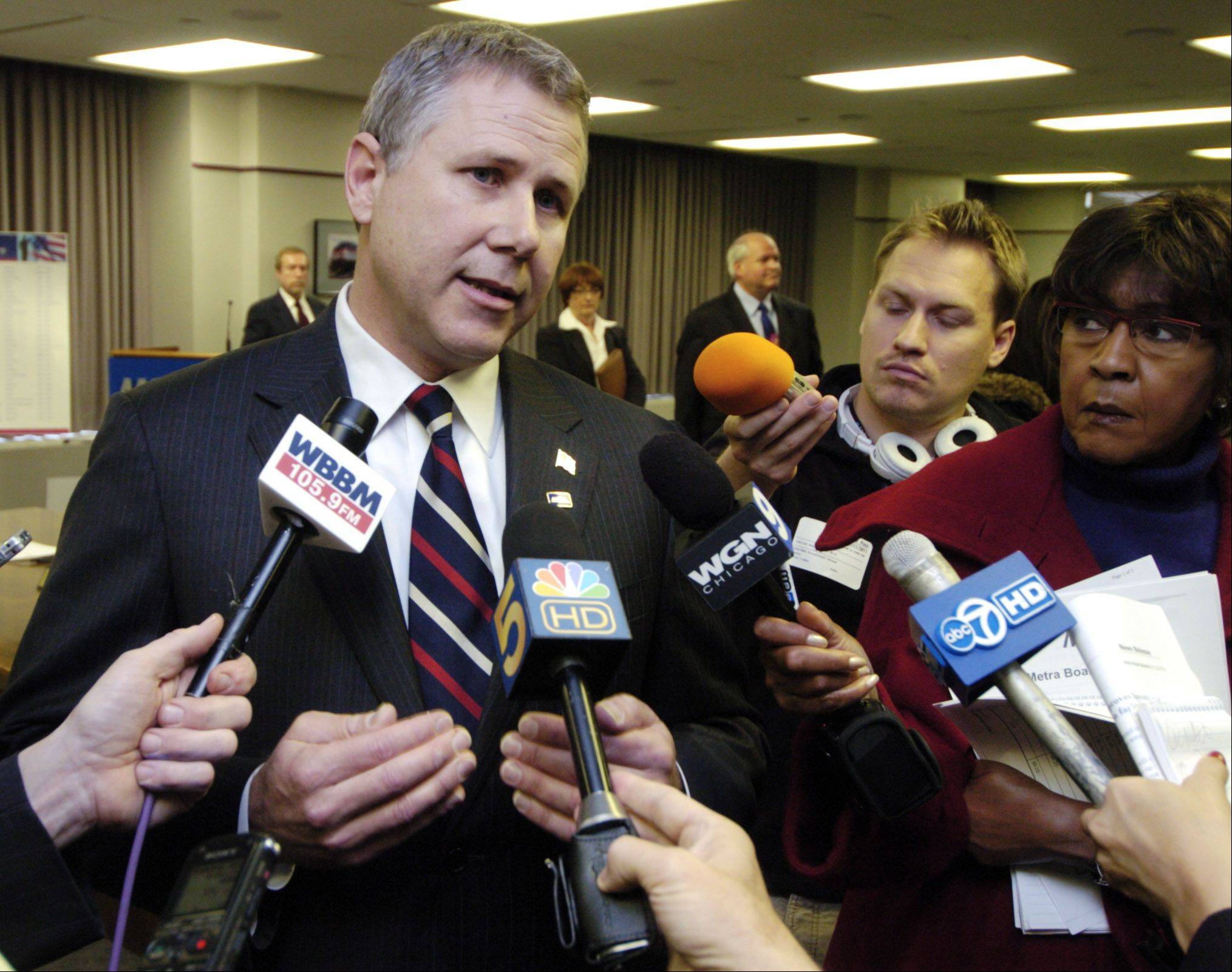 Former Metra CEO Alex Clifford will receive a hefty severance package.