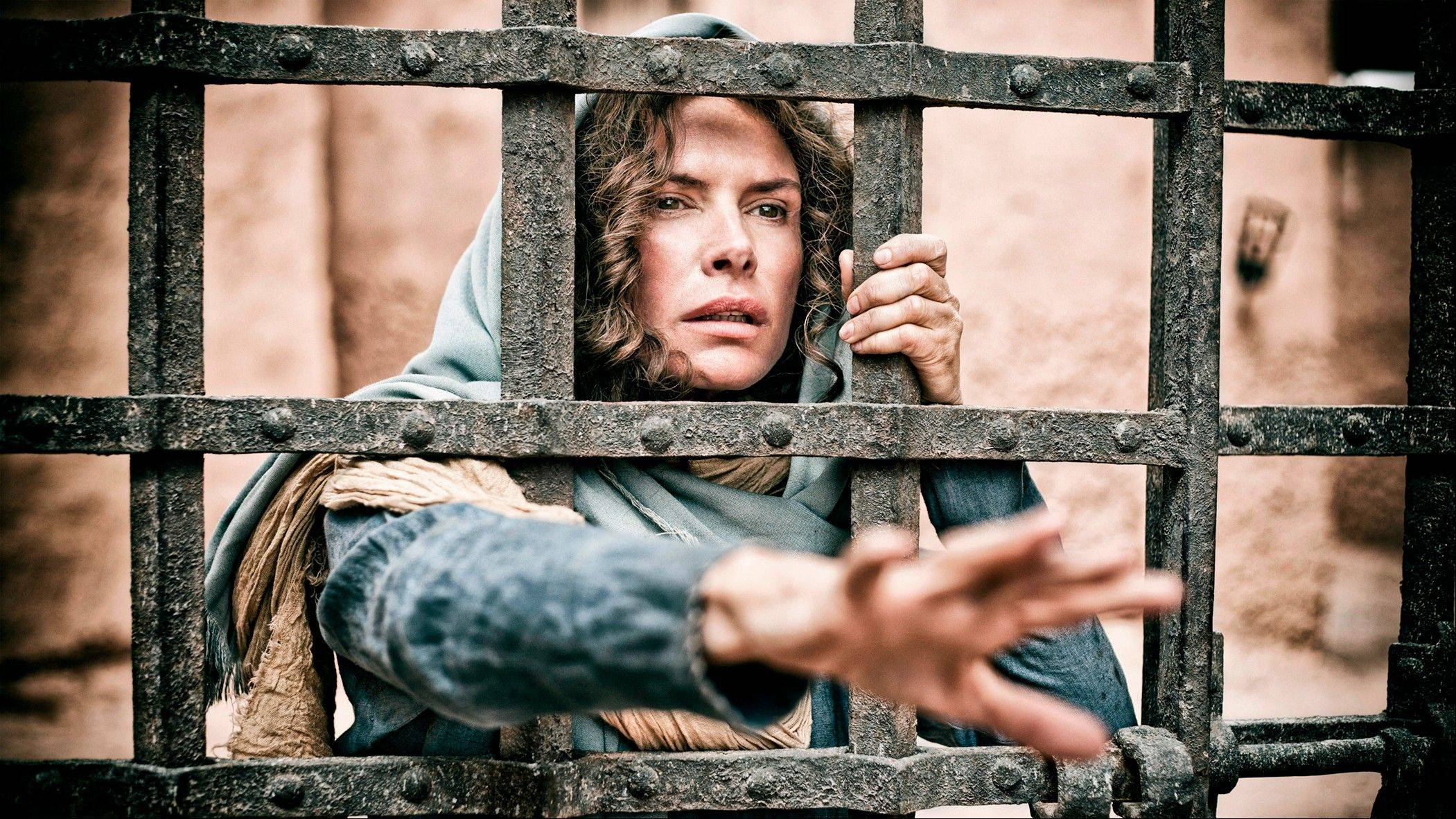 Roma Downey played Mary, the mother of Jesus, in �The Bible� miniseries.