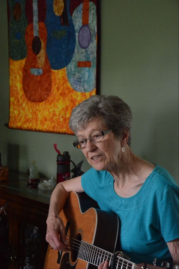 After a life as a preacher's wife and mother of five who opened her home to foster children, Marge Weber finally made some time to explore her love of music.