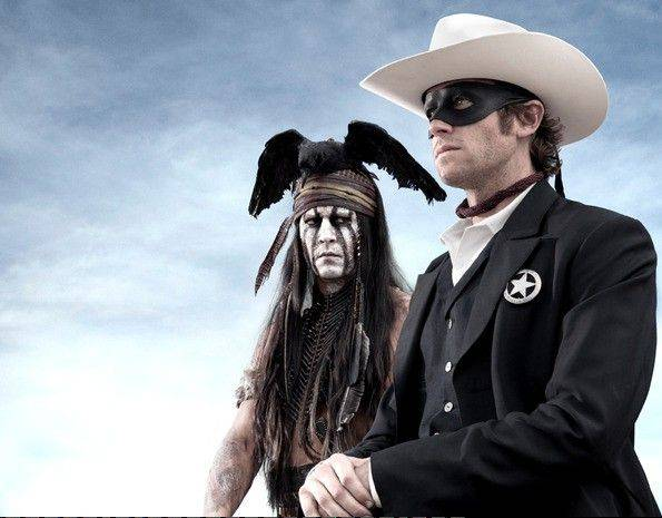 "In ""The Lone Ranger,"" Tonto (Johnny Depp) takes the spotlight away from Texas Ranger-turned-vigilante John Reid (Armie Hammer)."