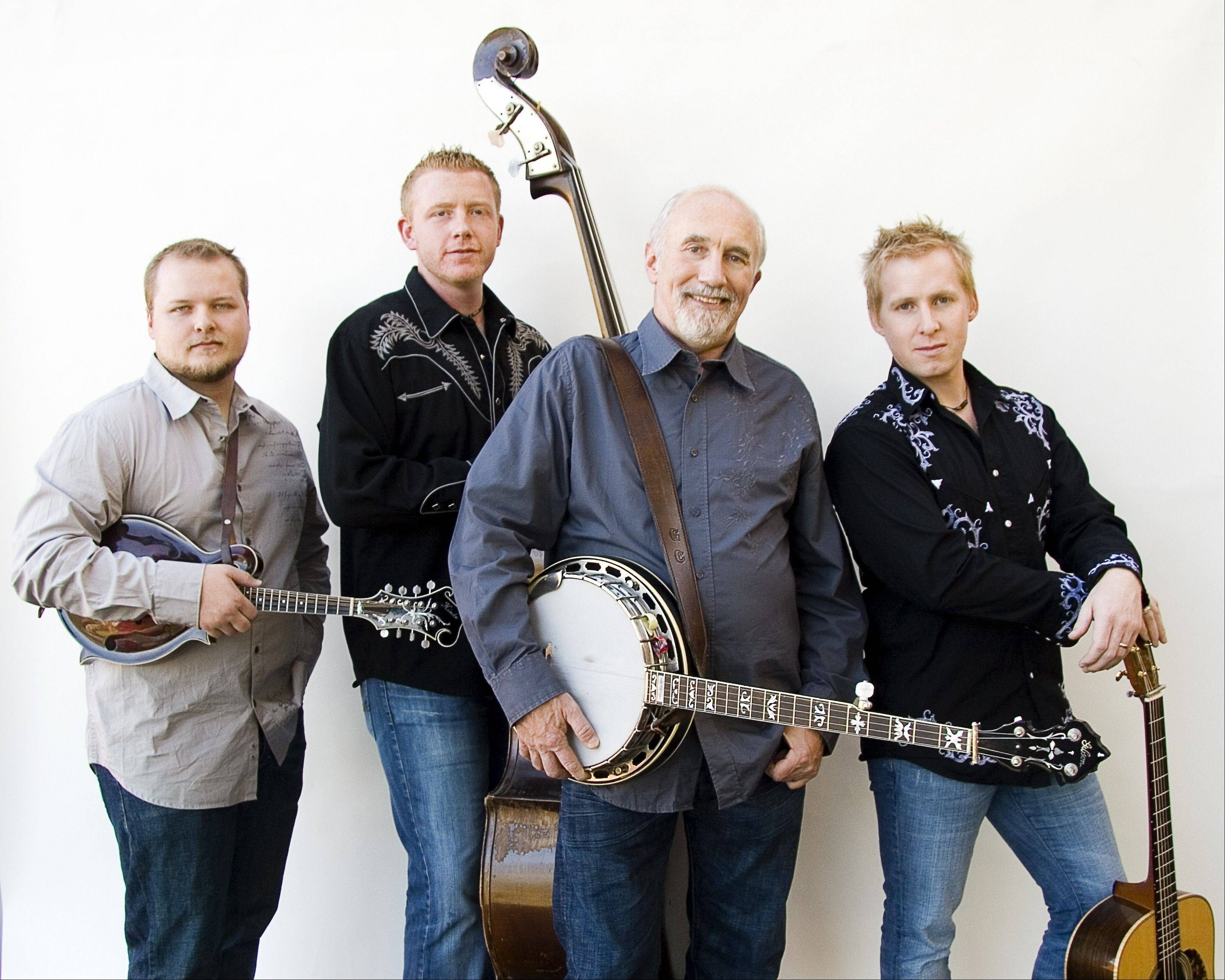 The Special Consensus Bluegrass Band performs at 4 p.m. Sunday, July 7, at Sunset Foods Pavilion in Long Grove.