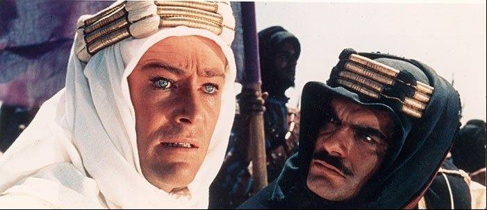 """Lawrence of Arabia"" will be screened at the Paramount Theatre in Aurora on Monday, July 29."
