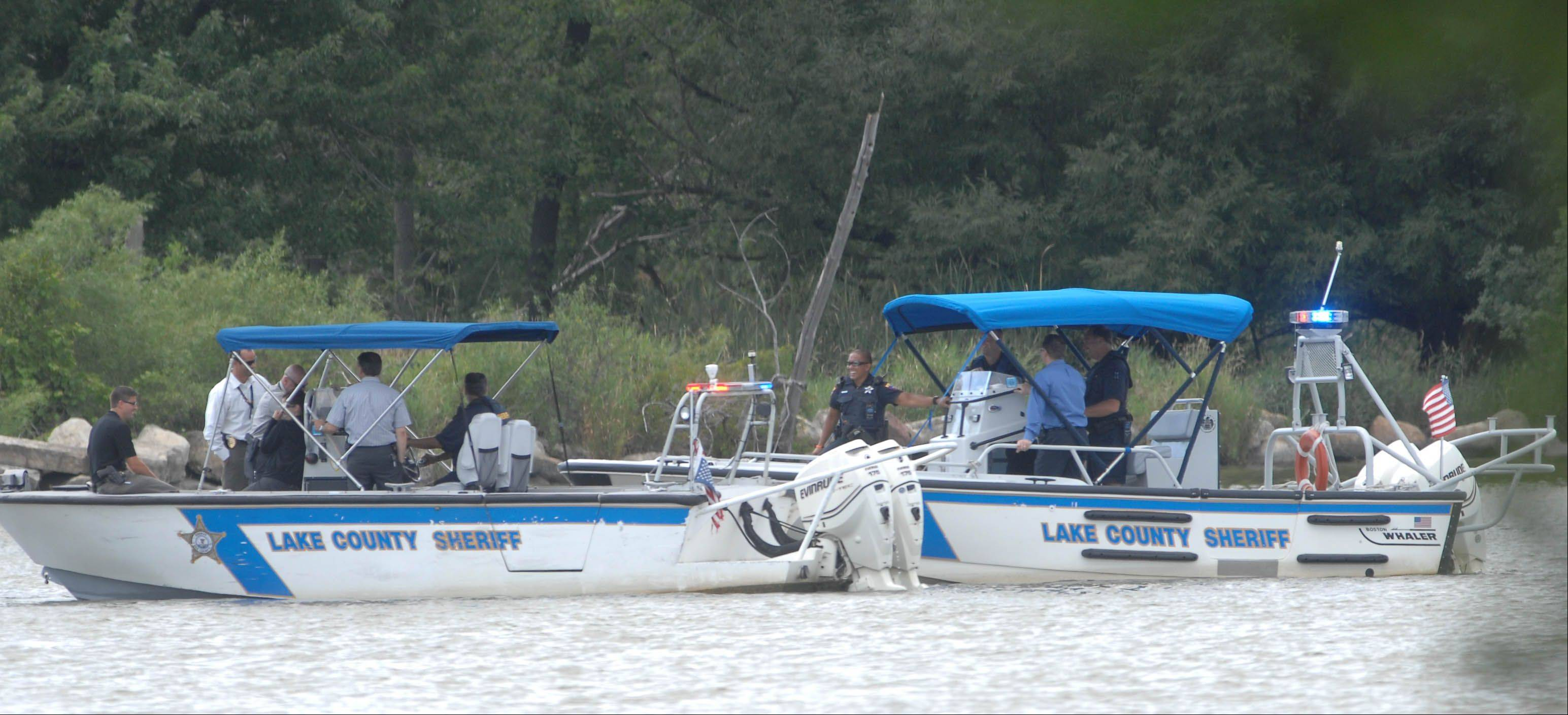 The Lake County sheriff's marine units will patrol the Chain O' Lakes during the holiday weekend.