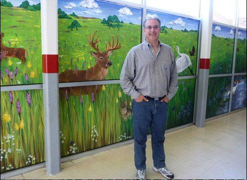 Jeff Hoyer teaches advanced placement environmental science and biology at Deerfield High School.