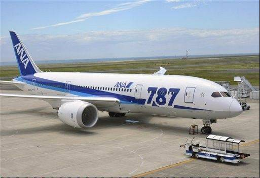 Boeing has delivered 306 jetliners so far, including 17 787s.