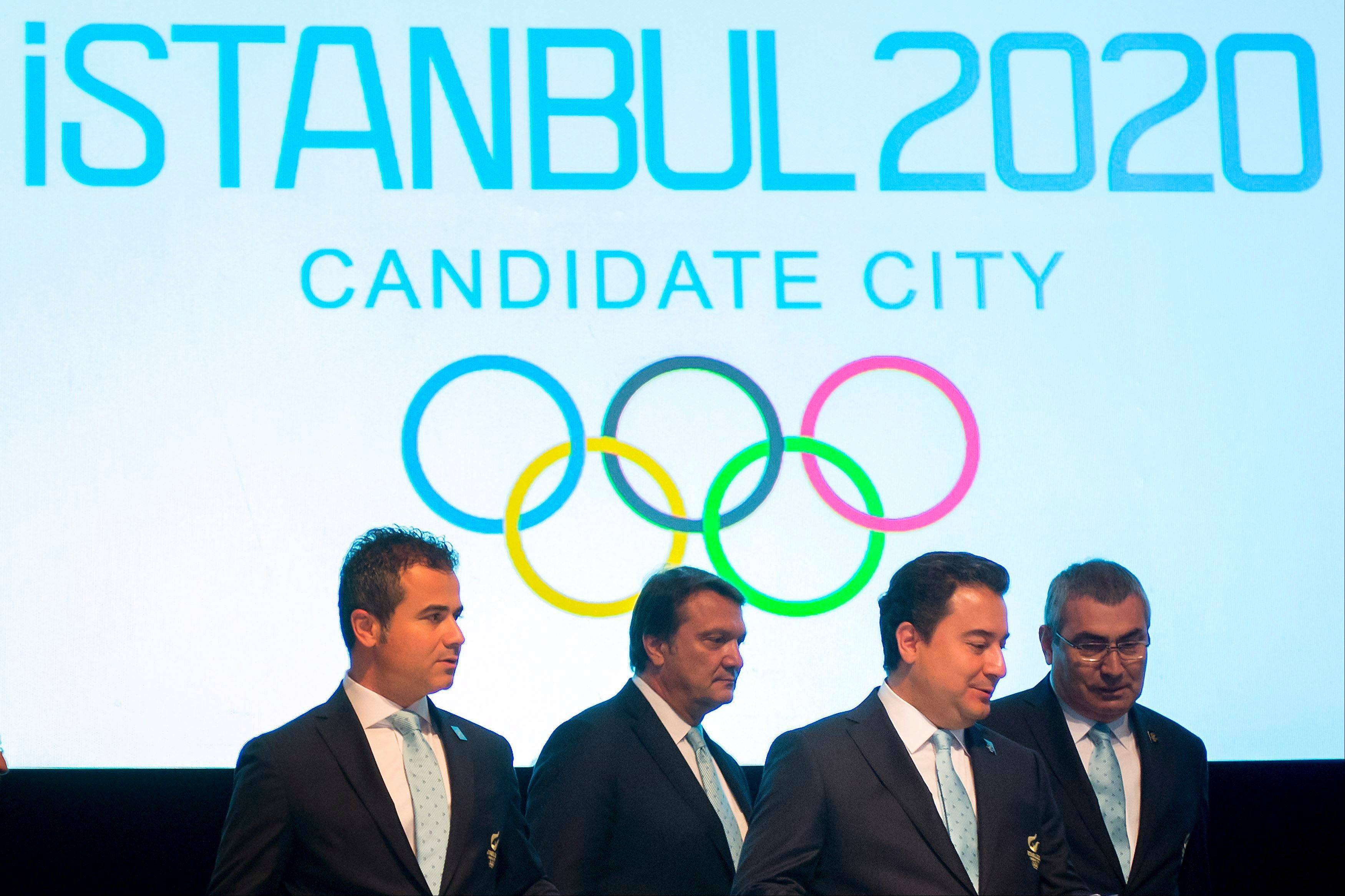 Istanbul, Madrid and Tokyo are laying out their plans on Wednesday to the general assembly of the International Olympic Committee, the first time they have made presentations directly to the electorate.
