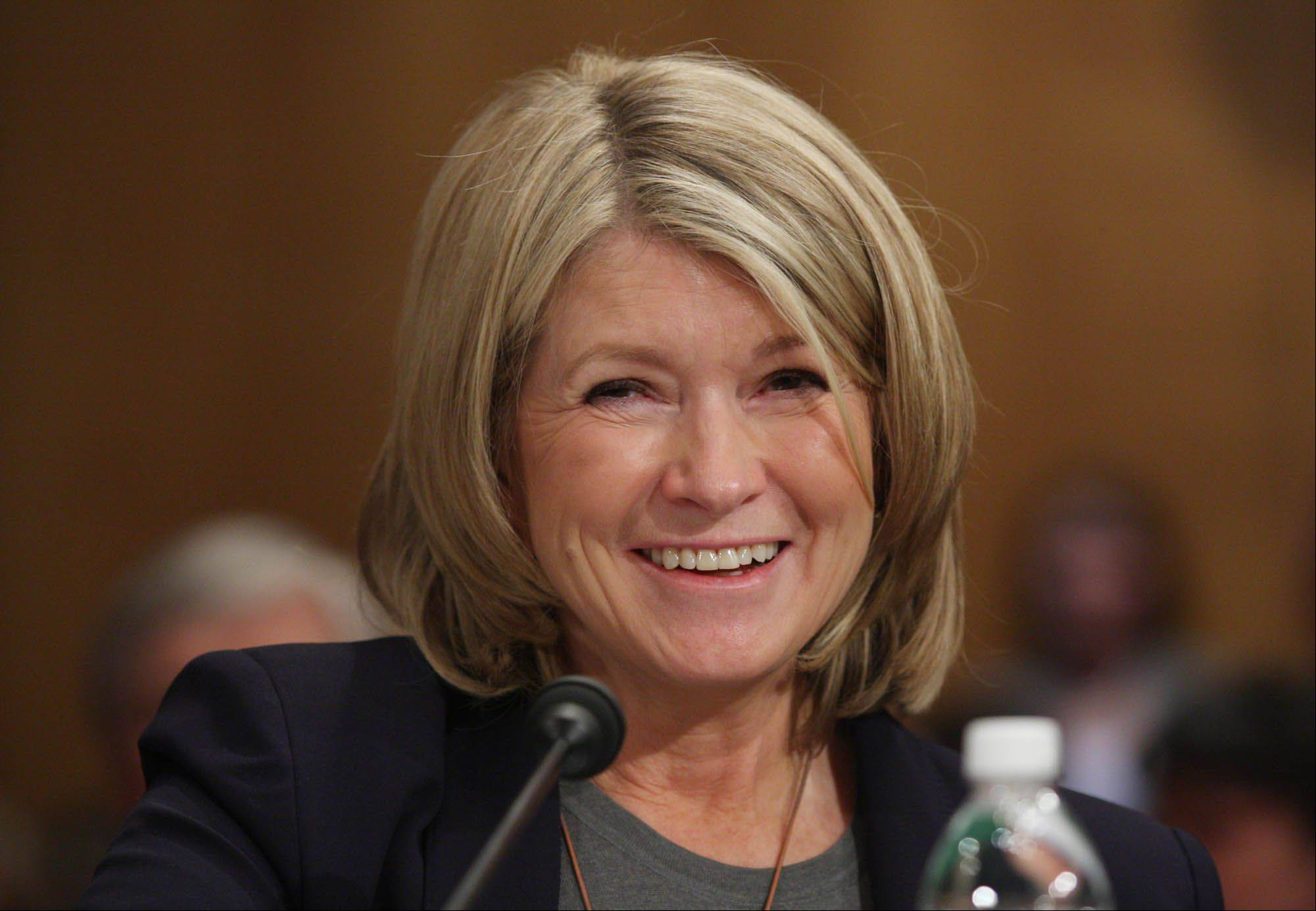 Martha Stewart Living Omnimedia Inc. changed the compensation to $1.8 million for Martha Stewart, its 71-year-old chairman, as part of an option in a July 2012 agreement that extended her employment until 2017, according to a filing Wednesday.