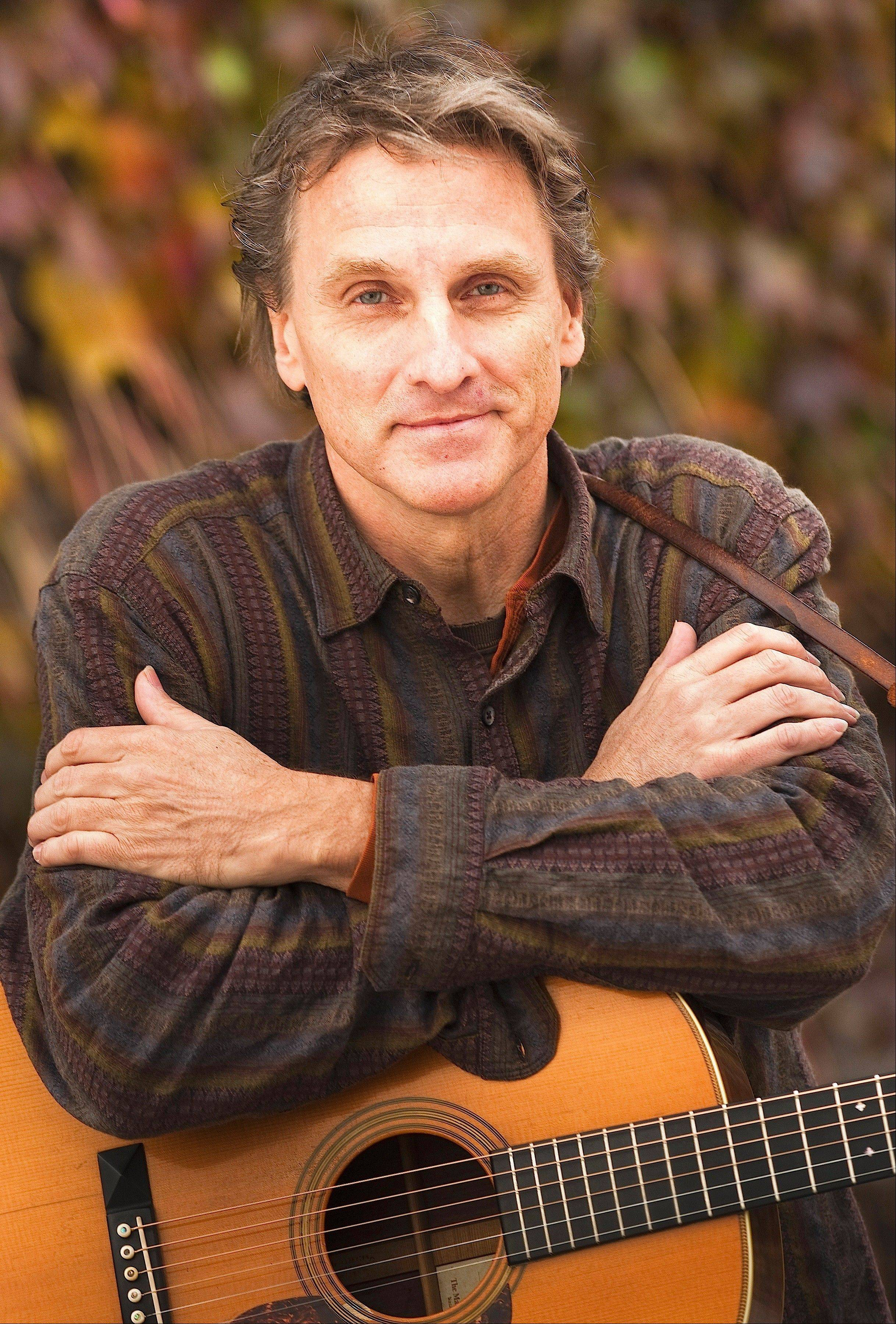 Folk performer Mark Dvorak plays the The House Pub in St. Charles on Sunday, July 7.