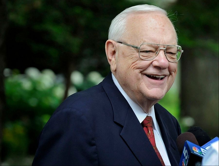 Former Gov. George Ryan had been under home confimenent since January.