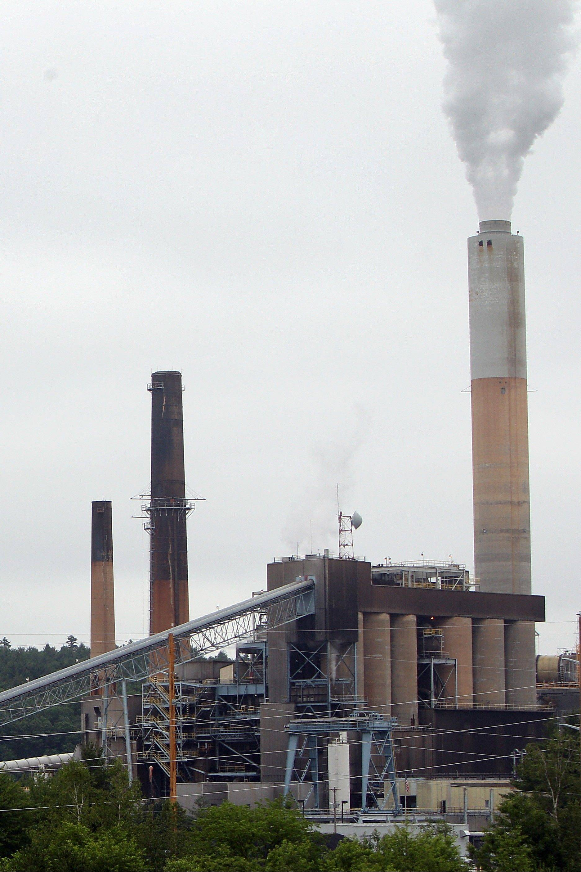 This Thursday, June 27, 2013 photo in Bow, N.H. shows one of New Hampshire�s two coal-fired power plants. In the days since Obama announced strict rules on carbon dioxide emissions it has raised new questions about the fate of New Hampshire�s coal-fired power plants.