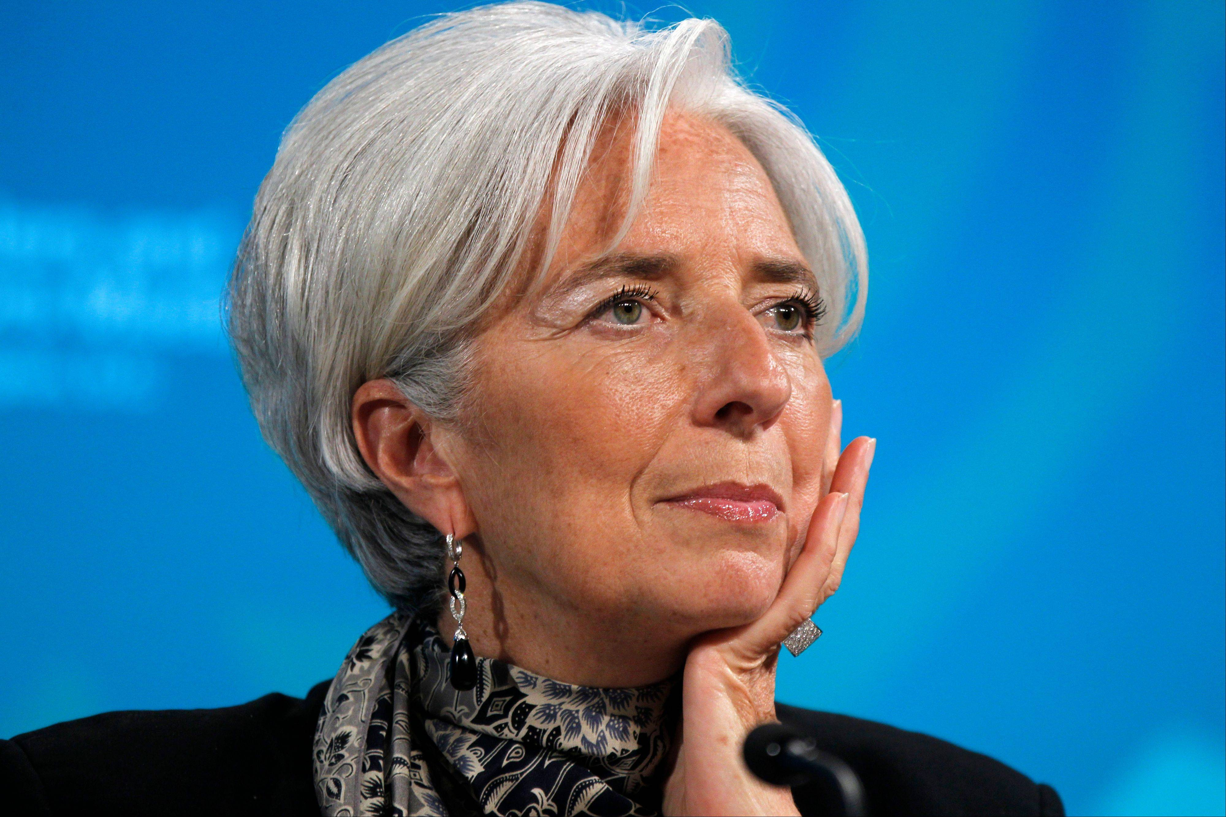 Christine Lagarde, managing director of the International Monetary Fund, helped engineer its largest and perhaps most controversial program -- the rescue of the euro zone.