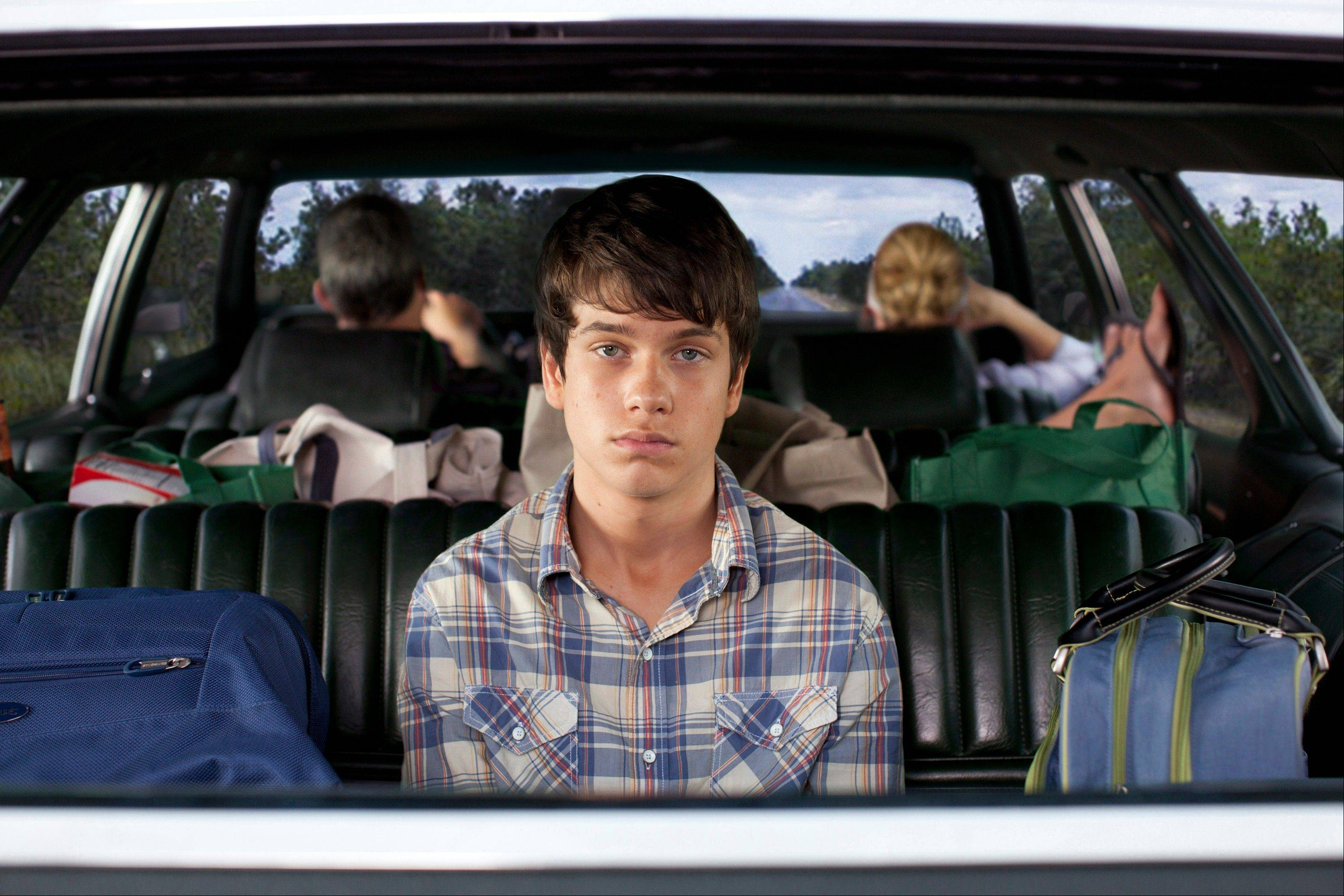 "Duncan (Liam James) begins what he imagines to be the worst summer of his adolescent life in ""The Way, Way Back."""