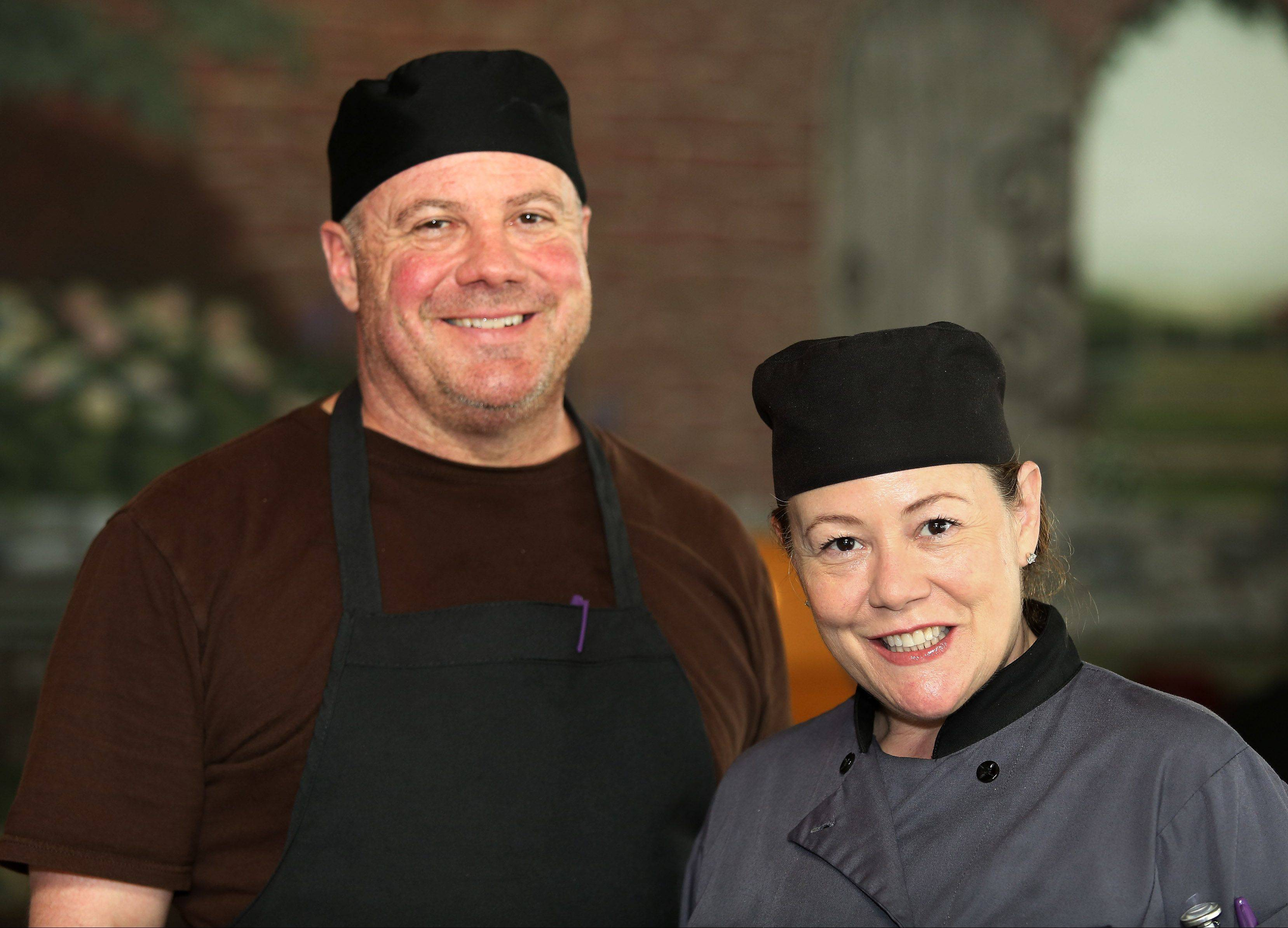 Rick Felipez and his sister Hayden Felipez-Taylor own and operate Lulo's Cuban Cafe in Grayslake.
