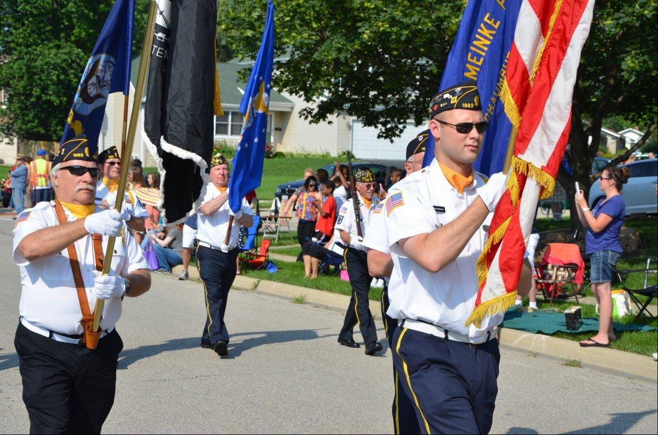 These are images from the Hoffman Estates Independence Day parade.