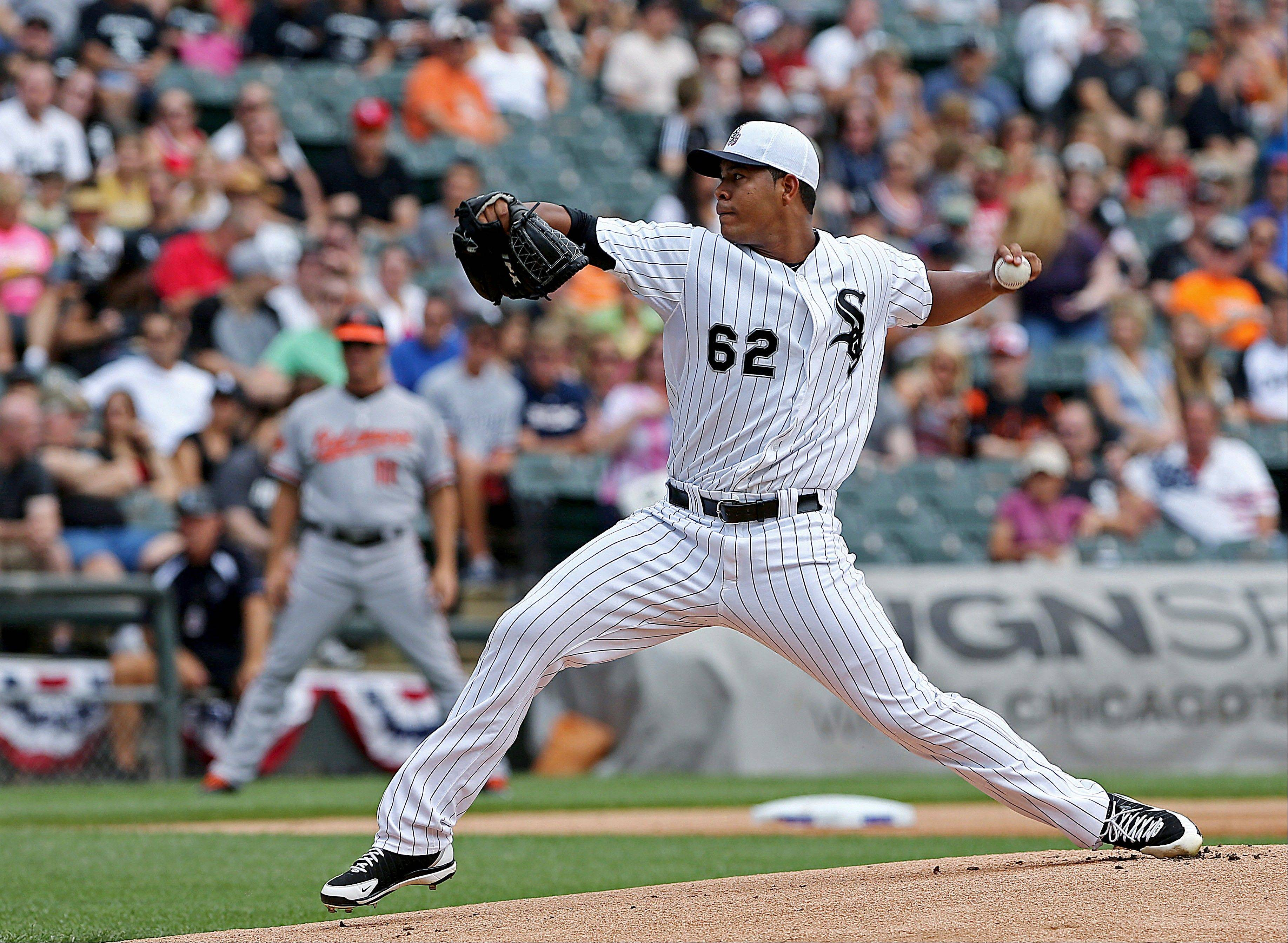 White Sox starting pitcher Jose Quintana struck out 11 Baltimore players Thursday at U.S. Cellular Field.