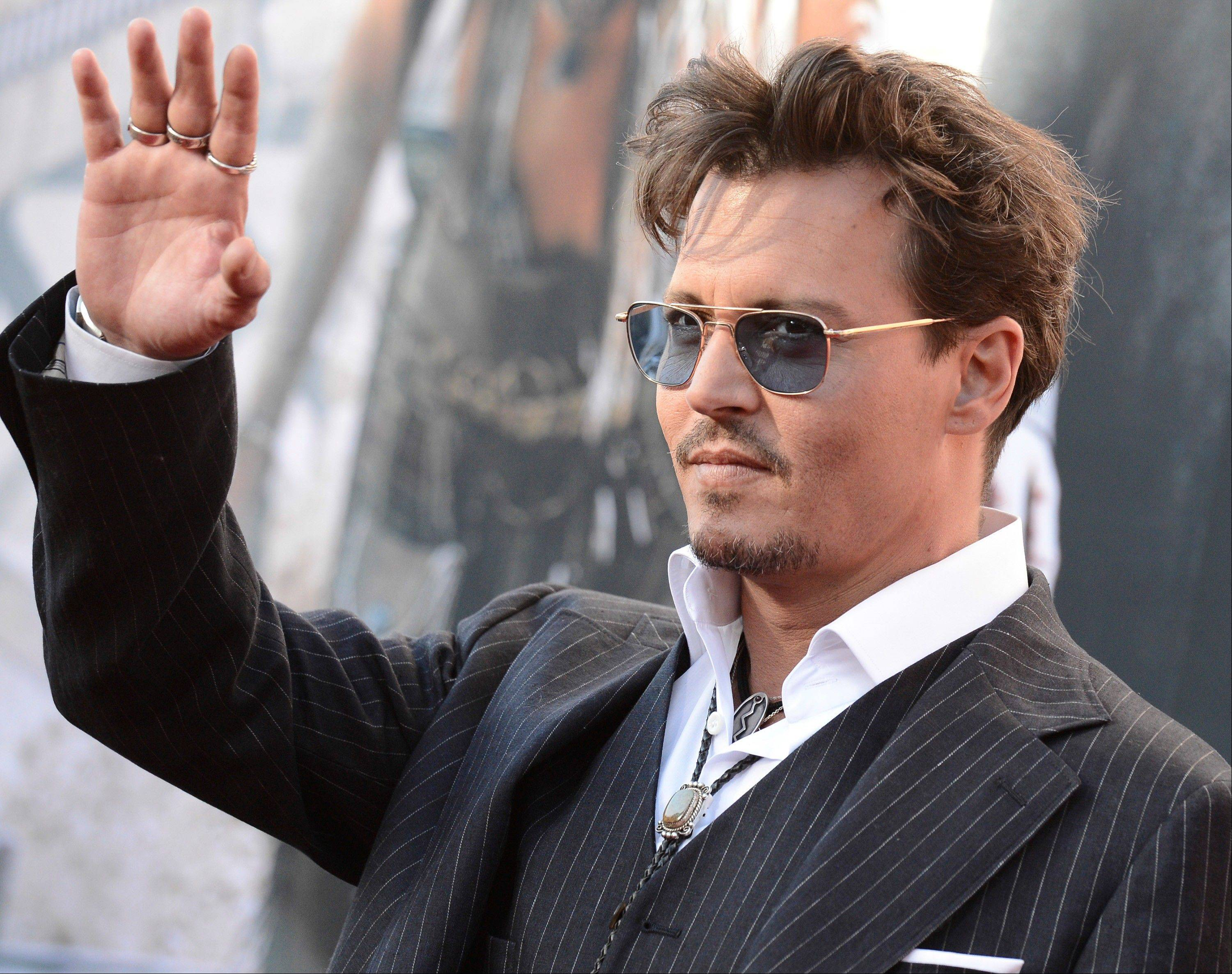 Johnny Depp, who recently turned 50, said he recognizes that popularity is fleeting.