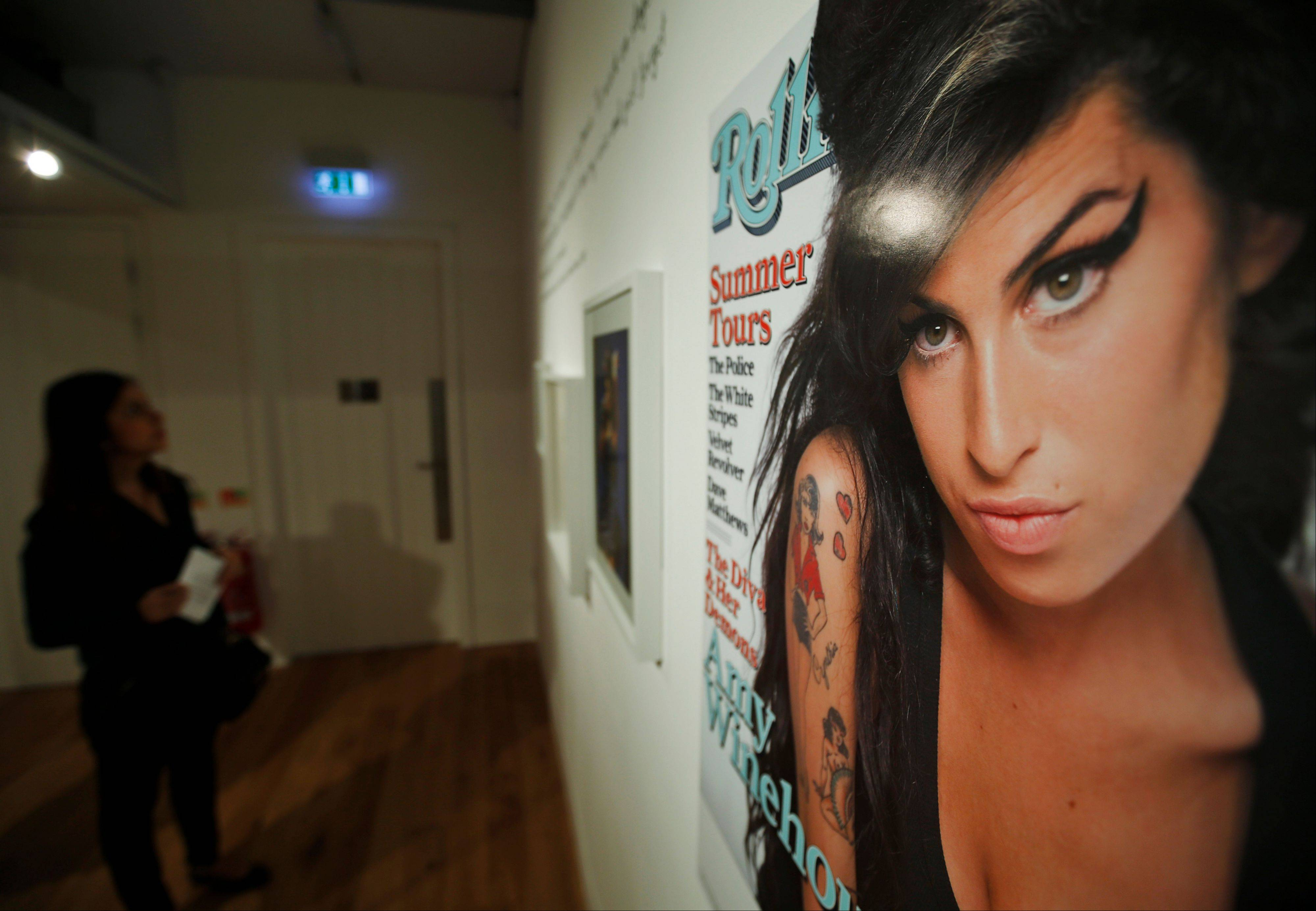 "An exhibition entitled ""Amy Winehouse: A Family Portrait"" in London's Jewish Museum. The exhibition aims to reveal an intimate side of the late soul diva."