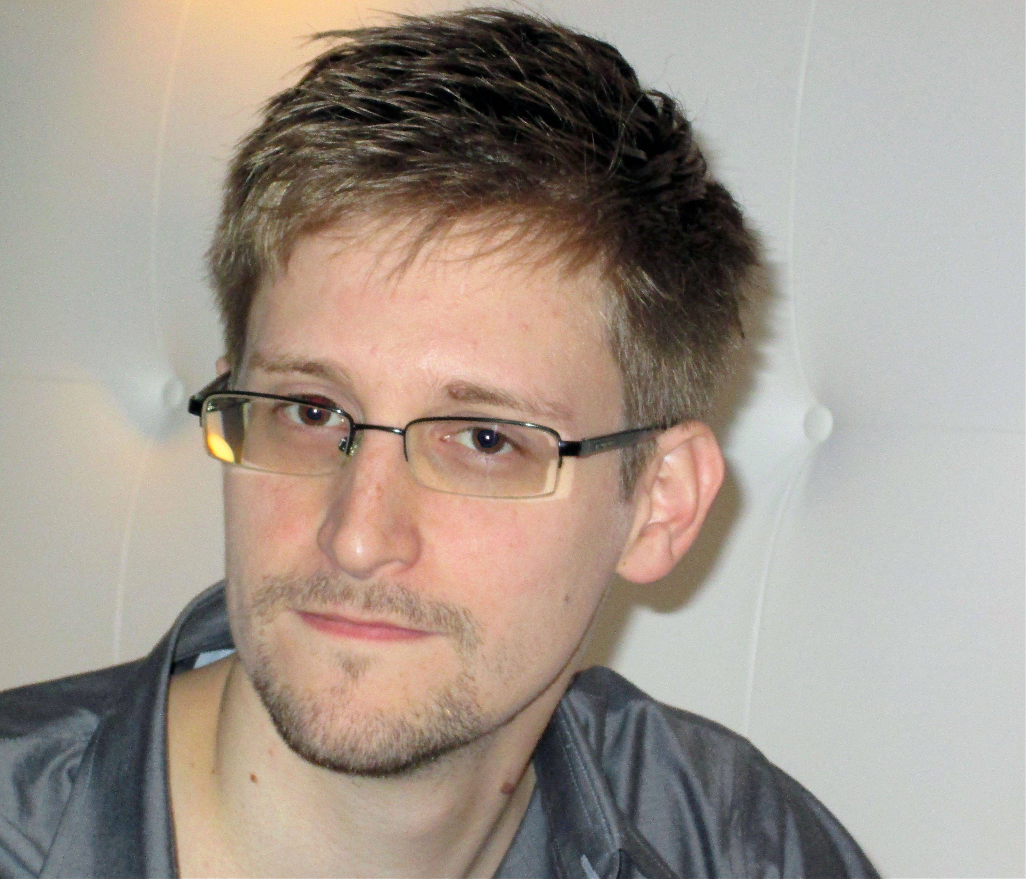 This image made available by The Guardian Newspaper in London shows an undated image of Edward Snowden, 29. Snowden worked as a contract employee at the National Security Agency and is the source of The Guardian's disclosures about the U.S. government's secret surveillance programs, as the British newspaper reported Sunday, June 9, 2013. (AP Photo/The Guardian, Ewen MacAskill) NO SALES NO ARCHIVE ONE TIME USE ONLY MANDATORY CREDIT