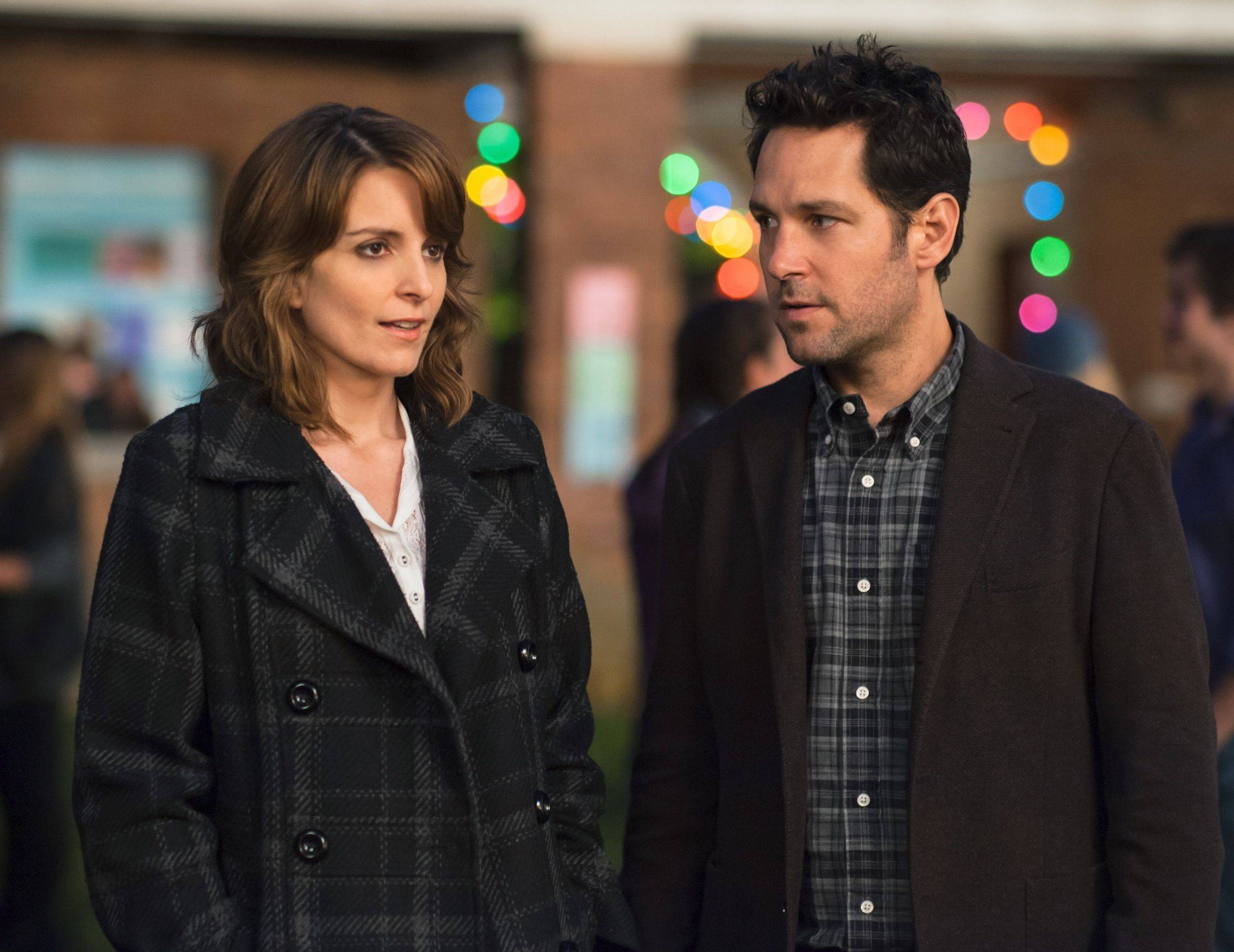 "Princeton University admissions officer Portia (Tina Fey) falls for a principal (Paul Rudd) trying to get a student into her school in ""Admission."""