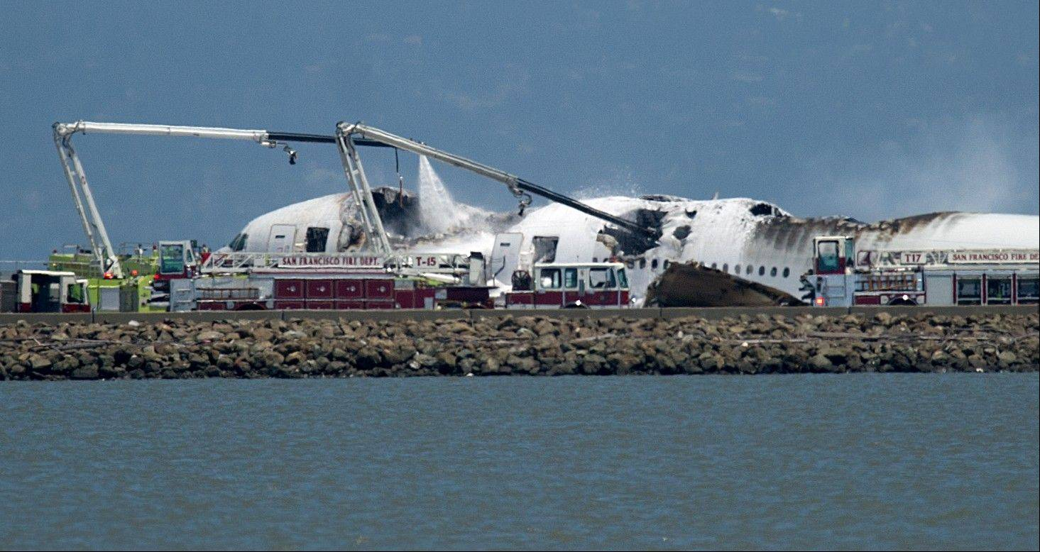 Images: Asiana plane crash in San Francisco
