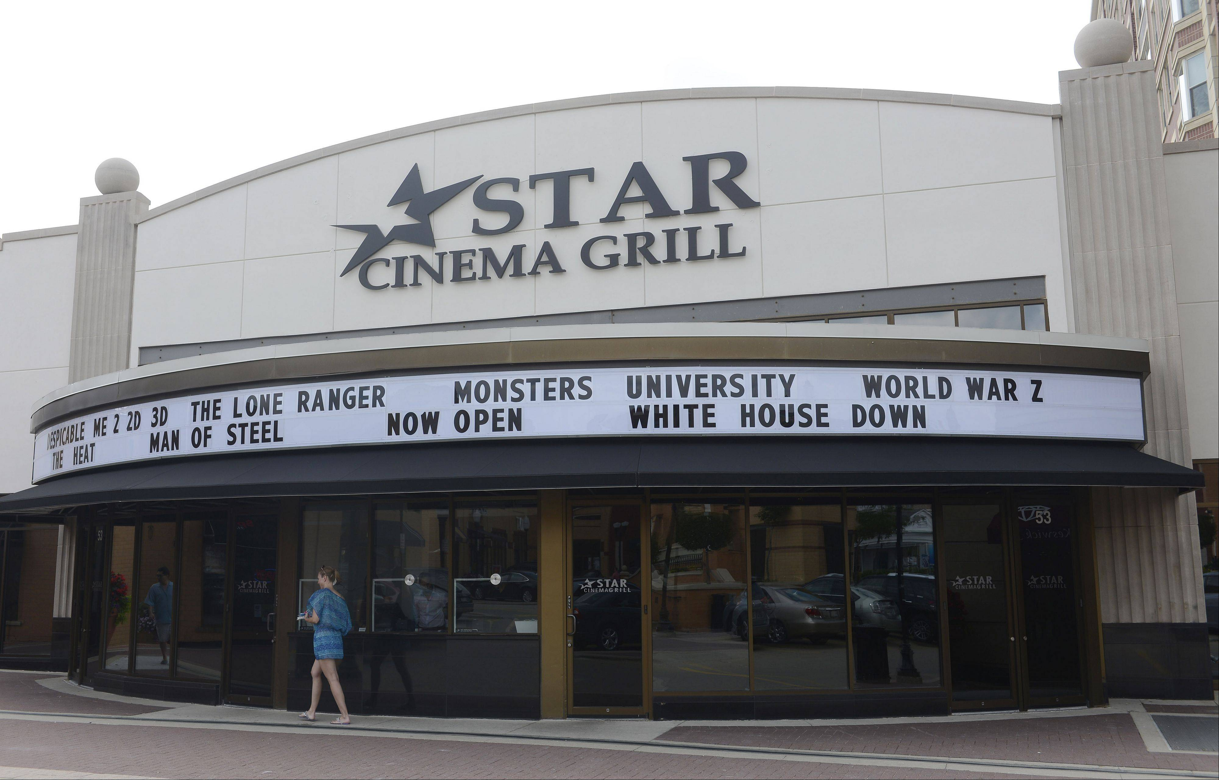 The Star Cinema Grill has opened in downtown Arlington Heights.