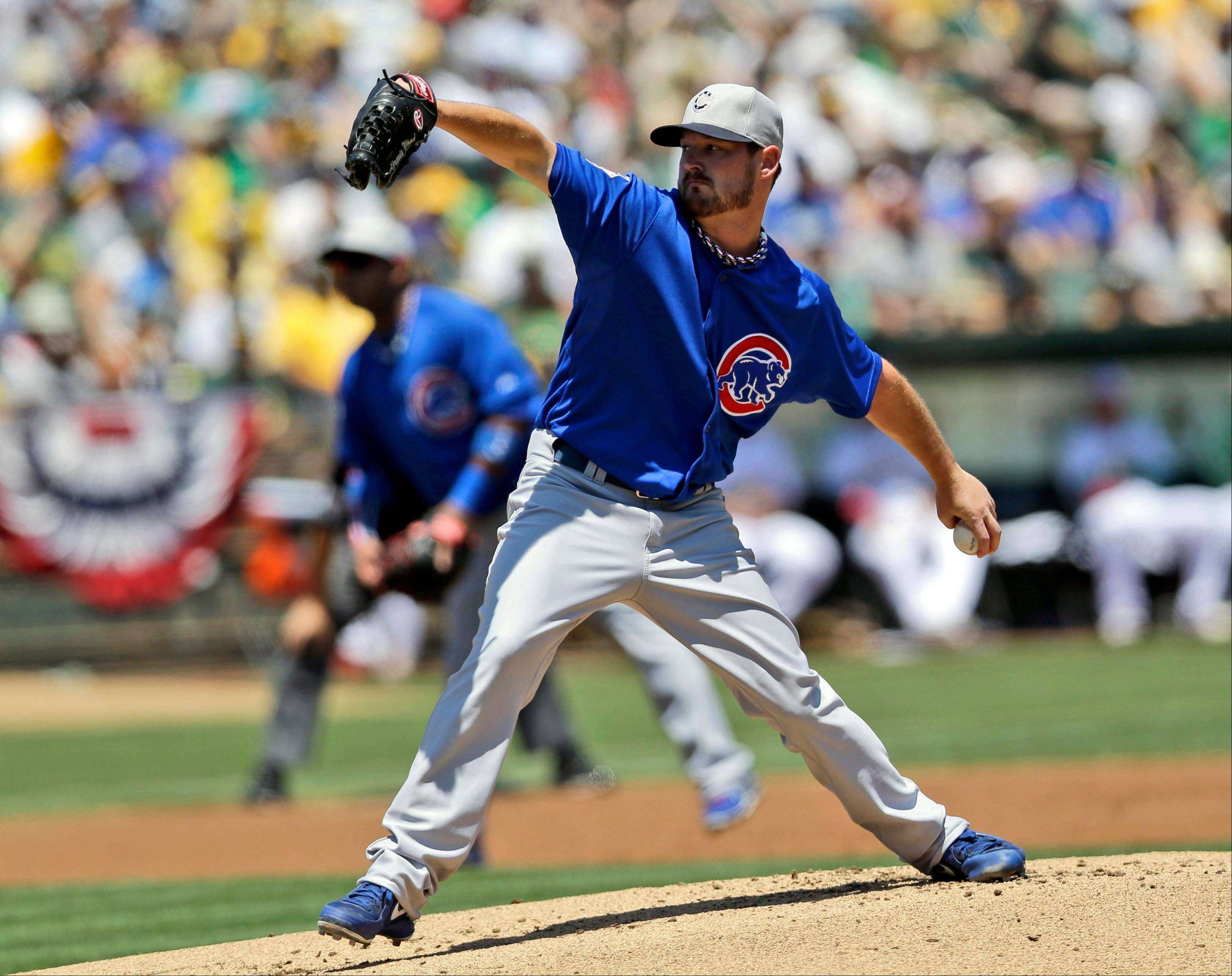 Cubs' Wood happy to be thrown in to all-star mix
