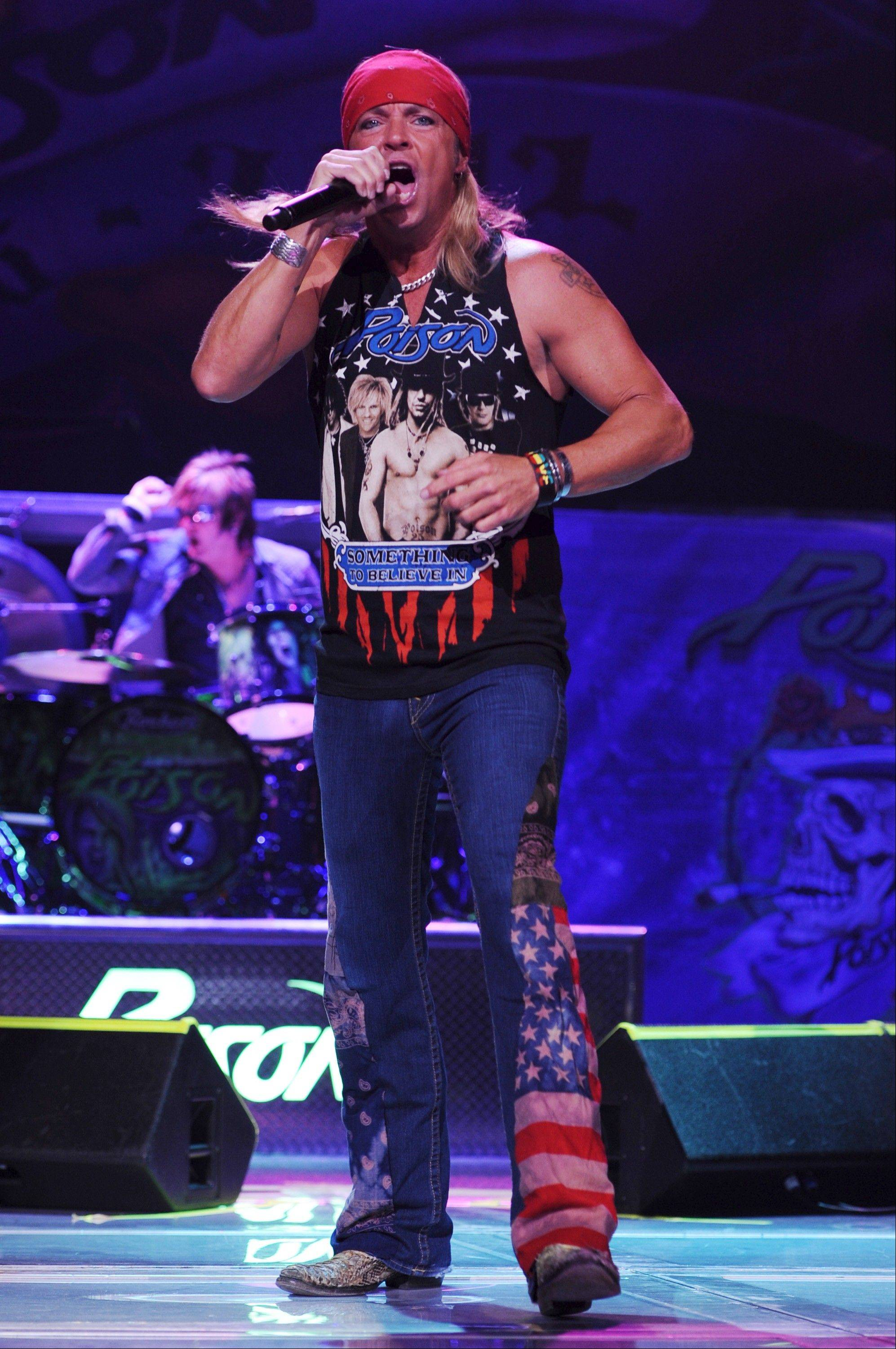 Bret Michaels headlines the Frontier Days Festival at Recreation Park in Arlington Heights on Saturday, July 6.
