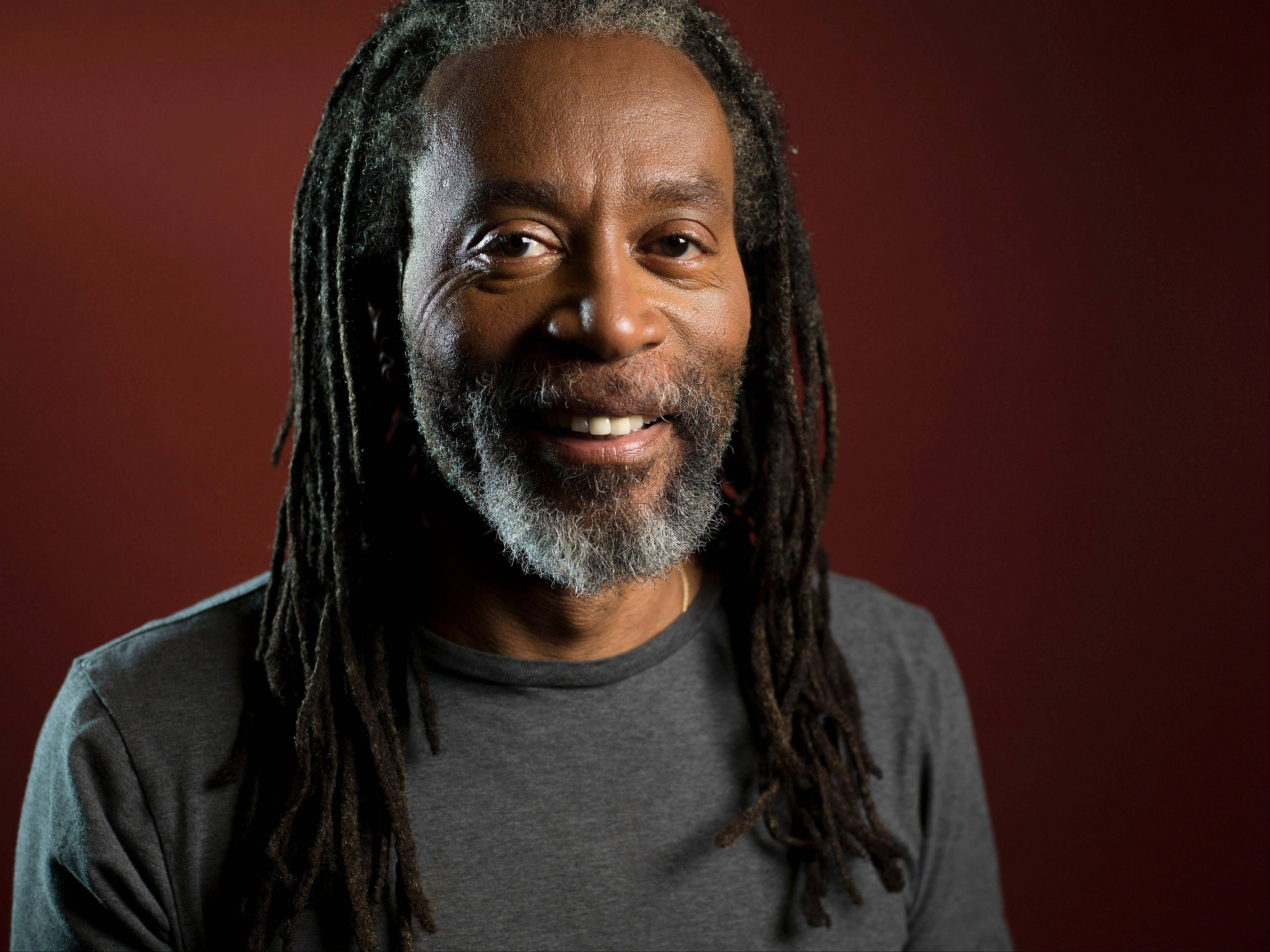 This May 6, 2013 photo shows musician Bobby McFerrin posing for a portrait in New York. The 10-time Grammy Award-winning musician recently released his 14th album, �spirityouall,� a CD that�s dedicated it to the legacy of his father, the Metropolitan Opera Baritone Robert McFerrin, Sr. (Photo by Scott Gries/Invision/AP)