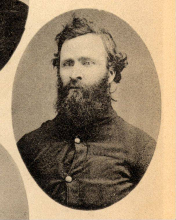 Edward Murray, a farmer from the Millburn area, was one of many Lake County men who served in the 96th Illinois Volunteer Infantry. He was shot, paralyzed and left on the battlefield at Chickamauga, Ga., but survived.
