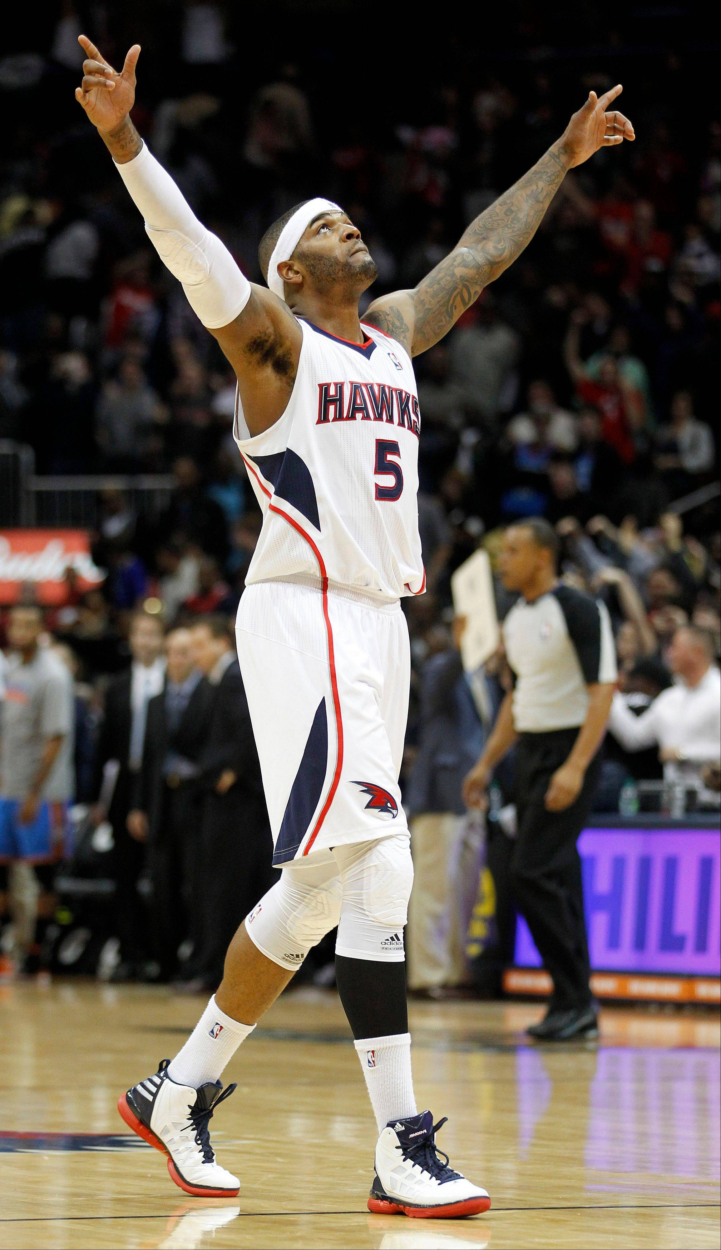 Forward Josh Smith will be playing for the Detroit Pistons next season.