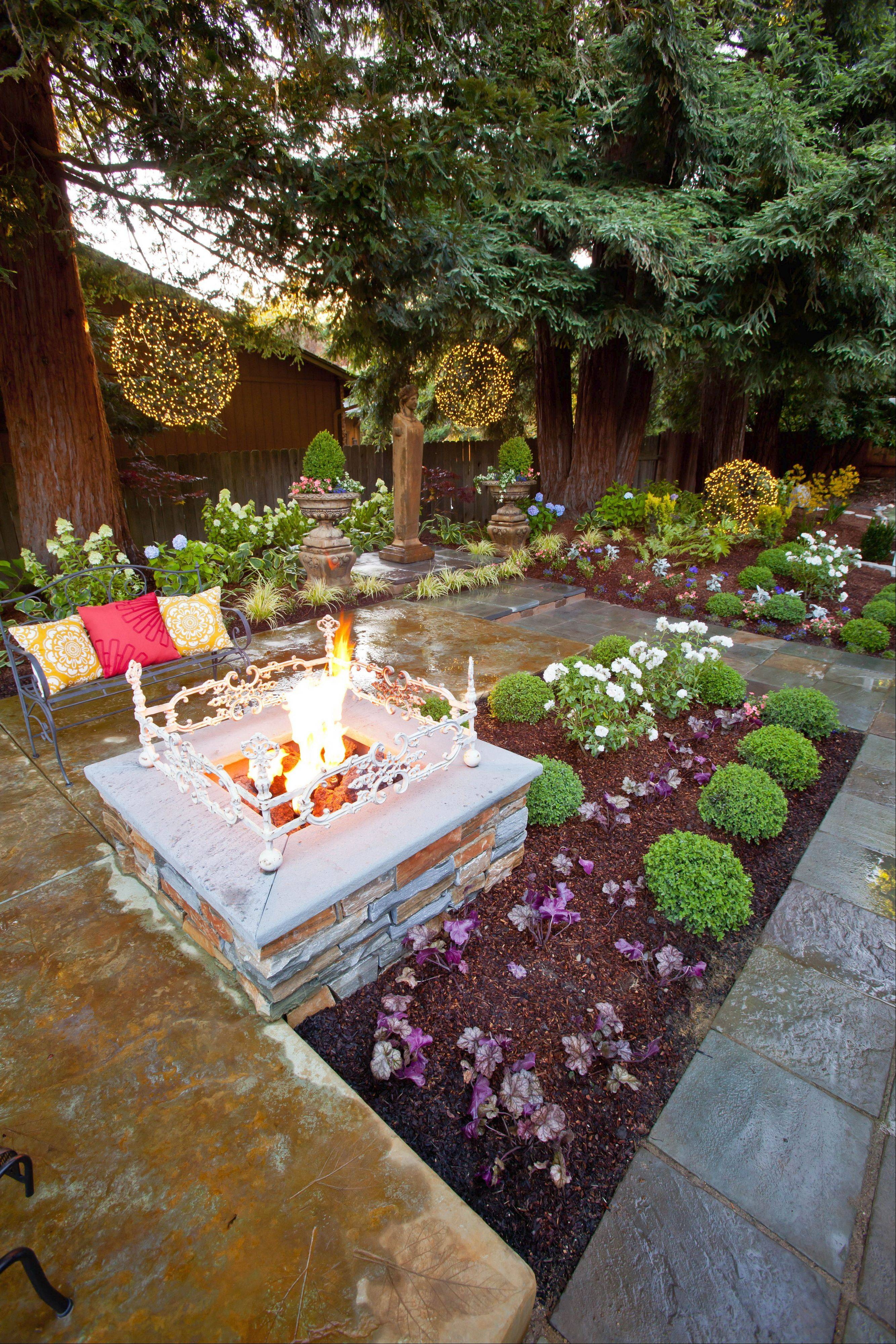 Just as water features have gained in popularity, new types of fire features for the yard have been made by manufacturers.