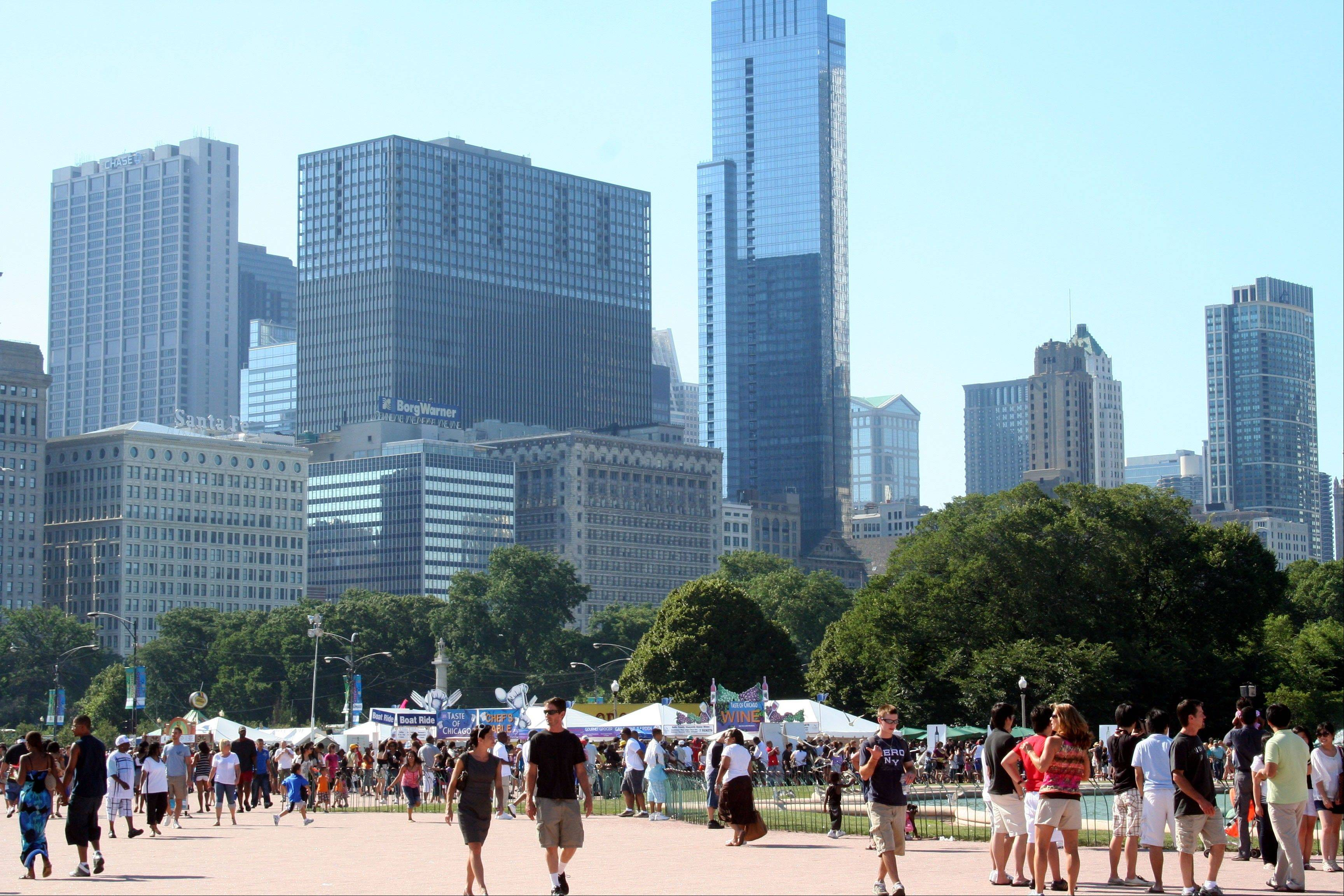 The Taste of Chicago starts July 10 and ends July 14.