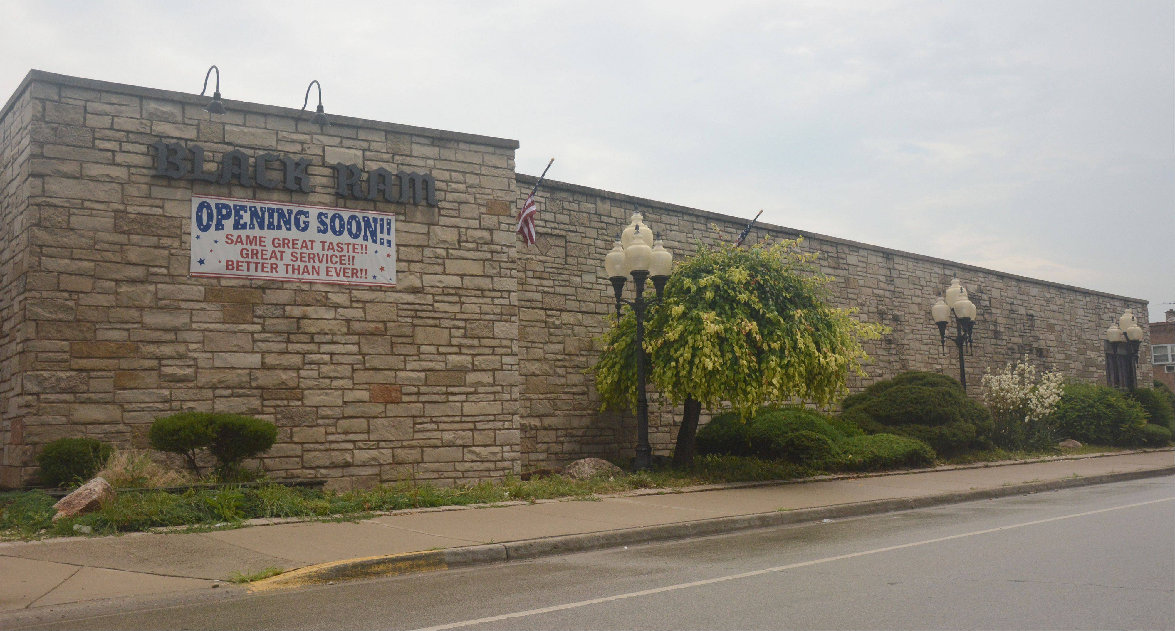 The Black Ram Restaurant in Des Plaines is reopening next month under new management. The longtime dining staple closed in 2009 after the state suspended its liquor license for failing to pay taxes.