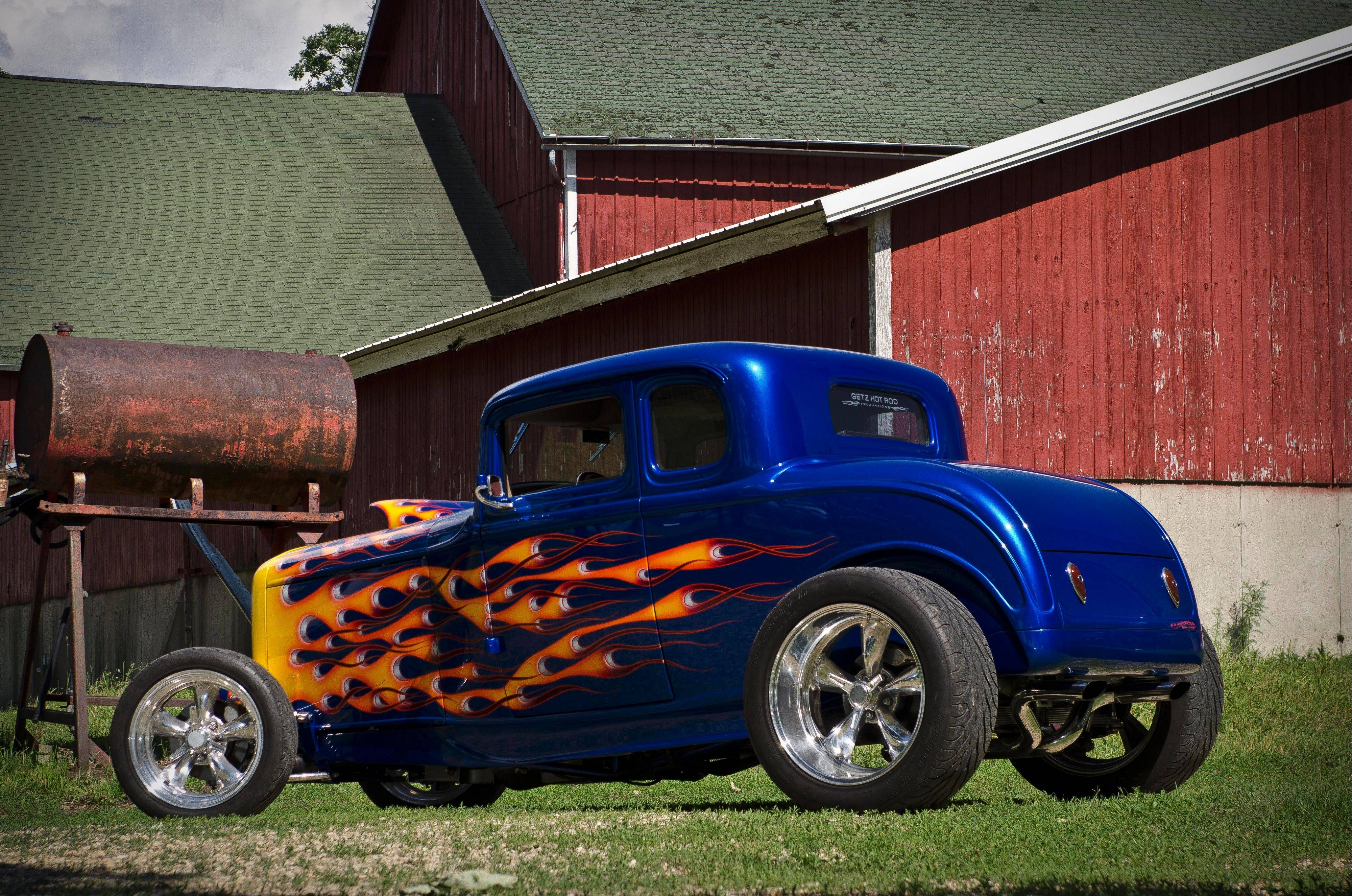 1932 Ford five-window coupe