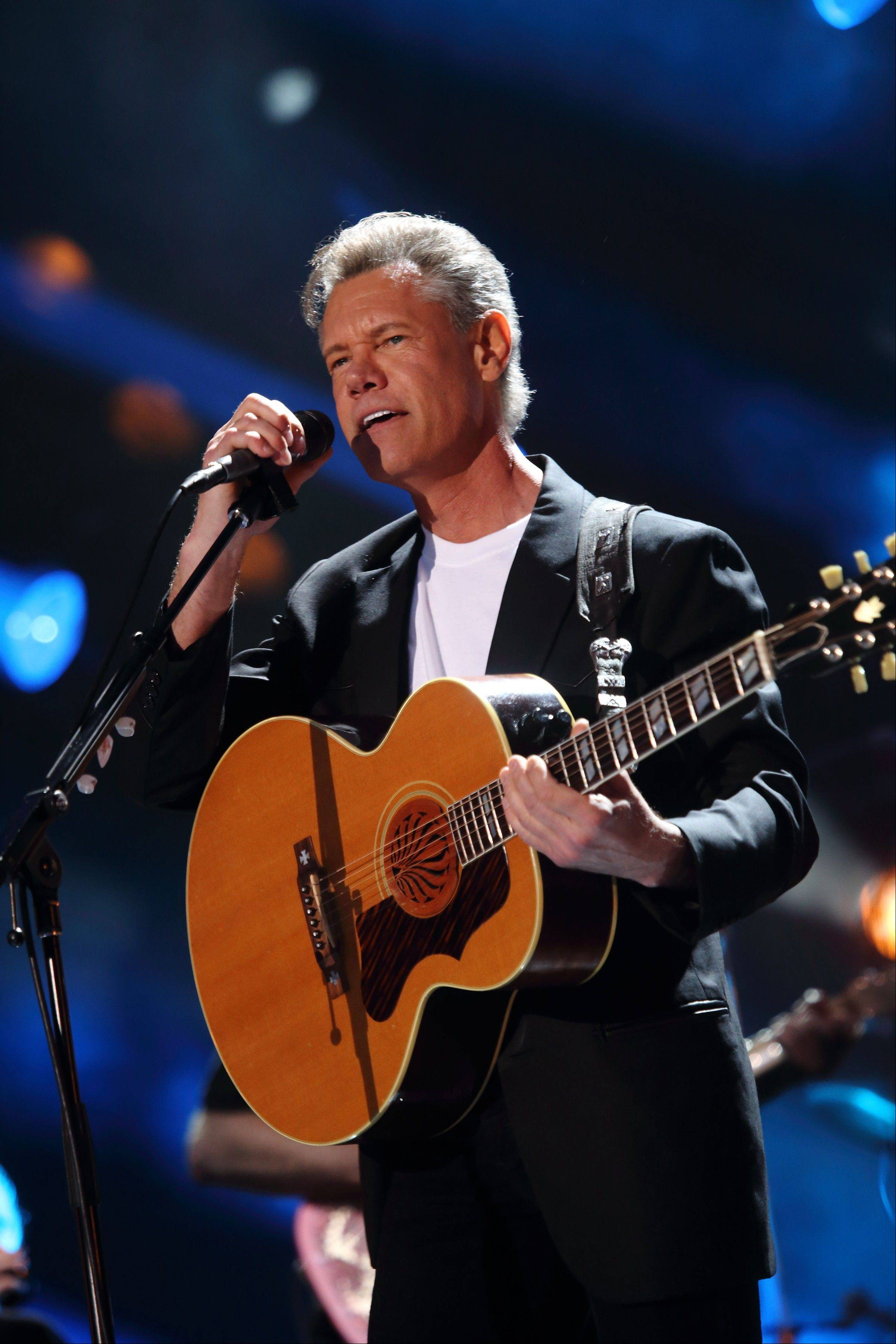Randy Travis has been hospitalized in Texas with viral cardiomyopathy.
