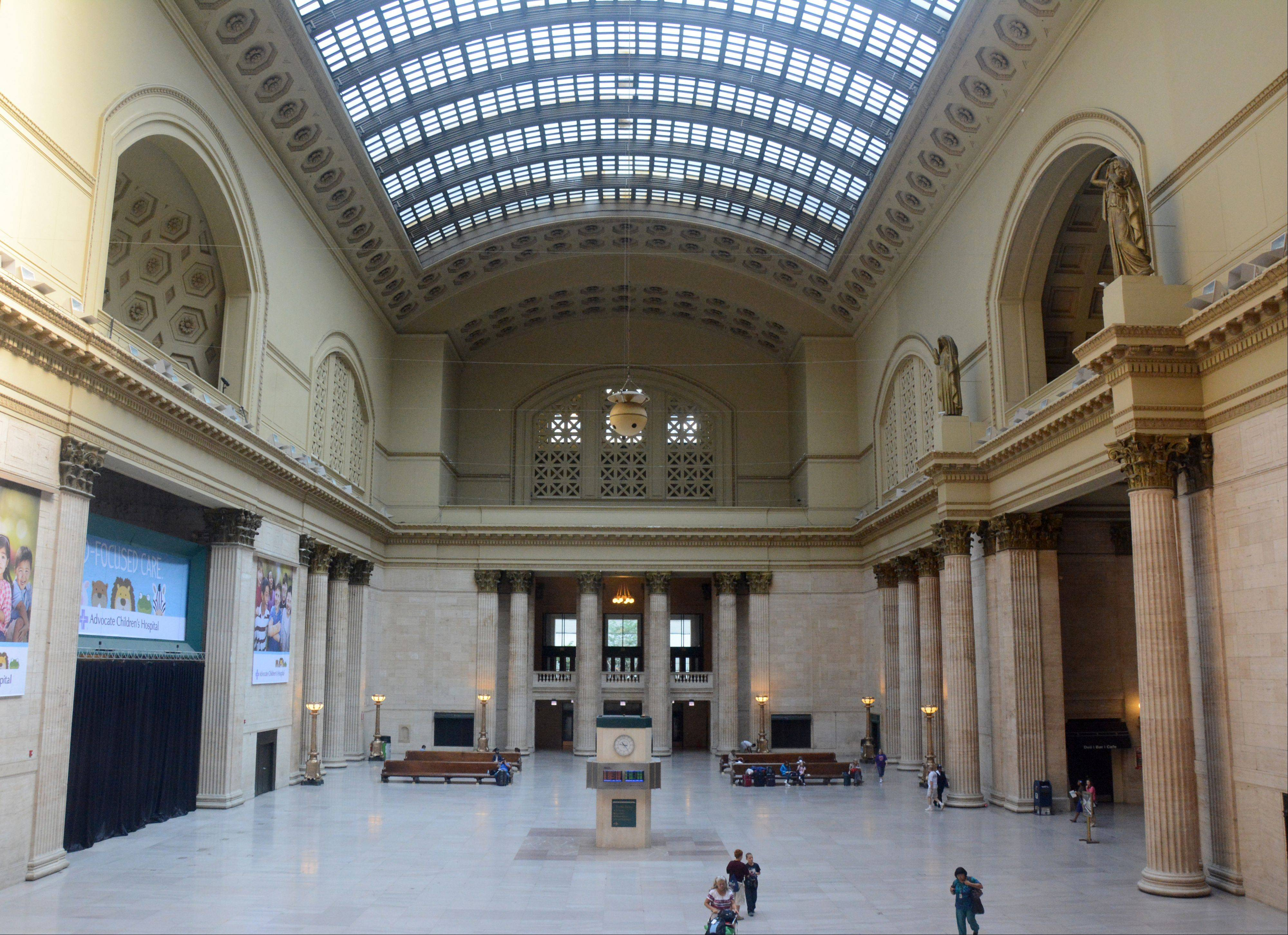 The Metropolitan Planning Council wants ideas on how to transform underused space at Union Station, including the Great Hall.