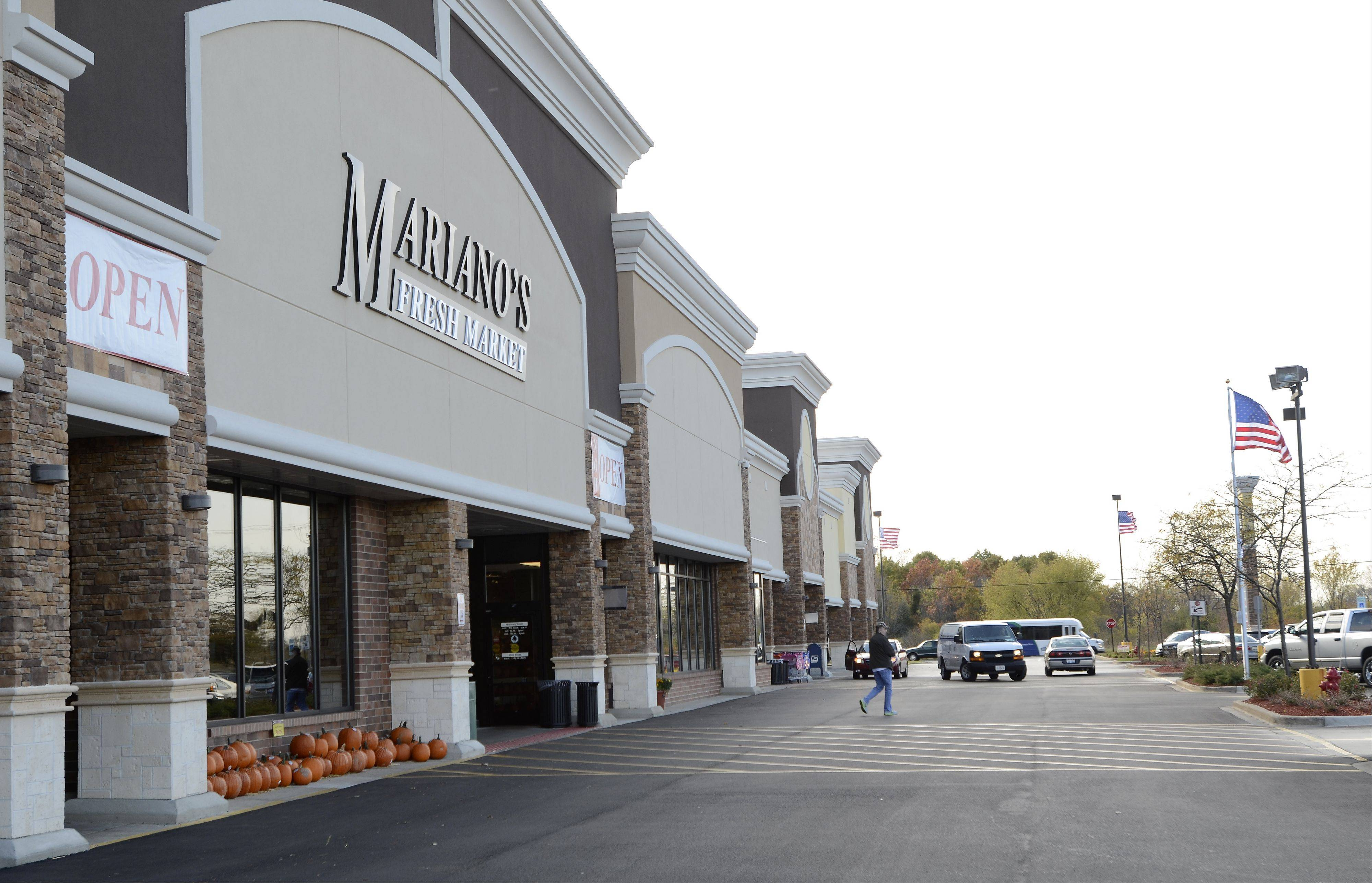 The Hoffman Estates village board agreed to let a Goodwill retail store and donation center move into the Hoffman Village Shopping Center, located near Barrington and Golf roads. Village officials say the center has been revitalized since a Mariano's Fresh Market moved into the center in August 2012.