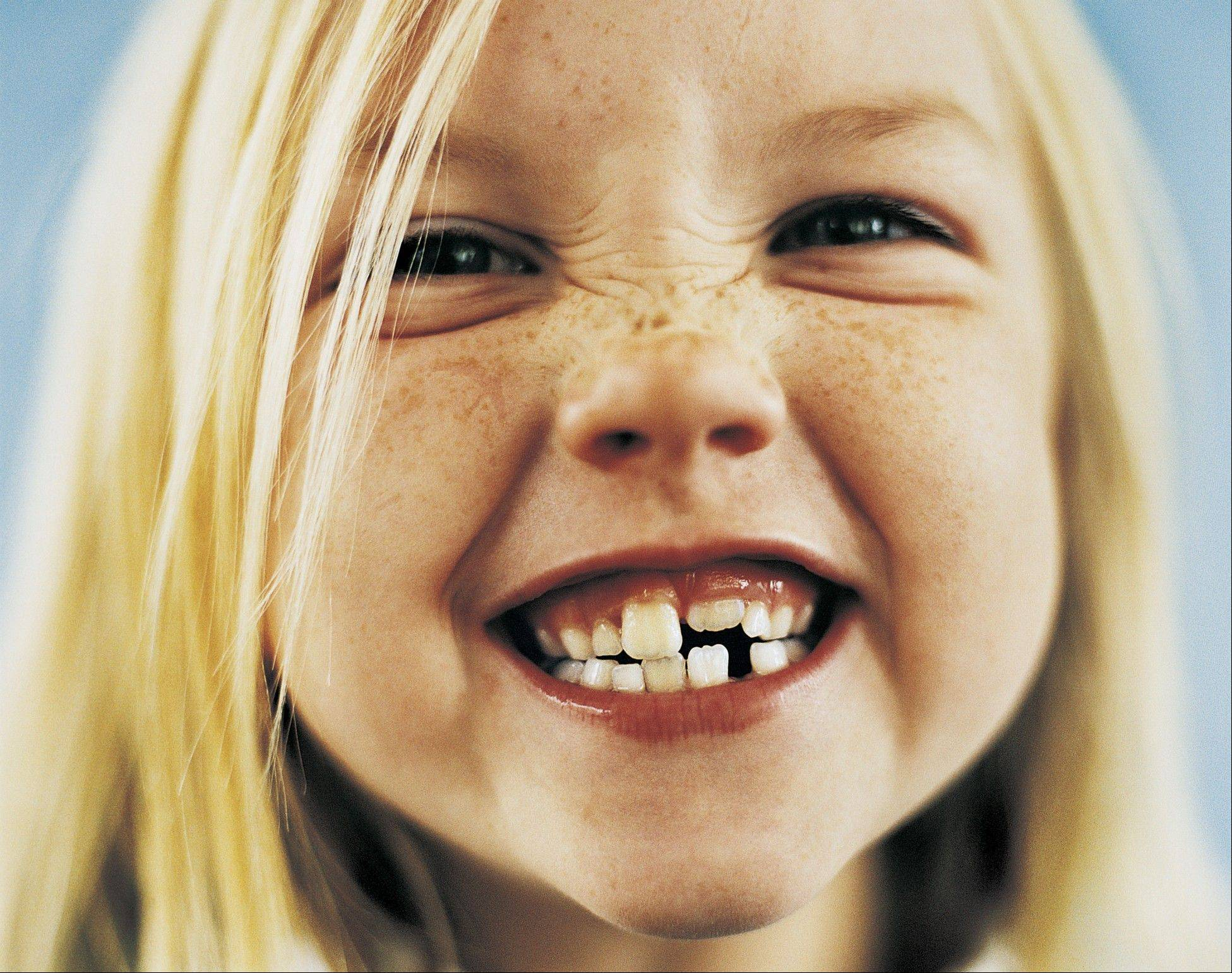 Certain foods can help strengthen teeth, especially in children.